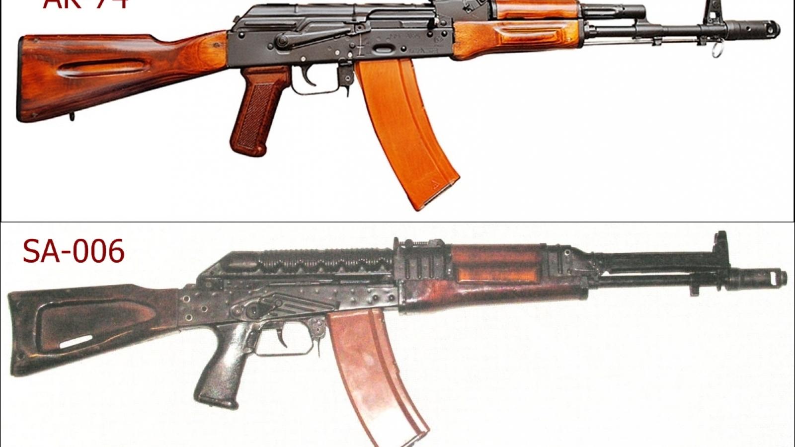 Súng AK-74 (phiên bản cải tiến) đã vượt qua đối thủ SA-006 như thế nào?