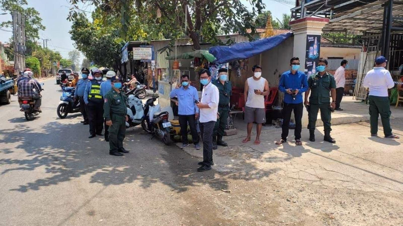 Campuchia phát hiện thêm hàng chục ca Covid-19 trong cộng đồng