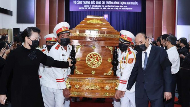 State-level memorial service held for former Deputy PM