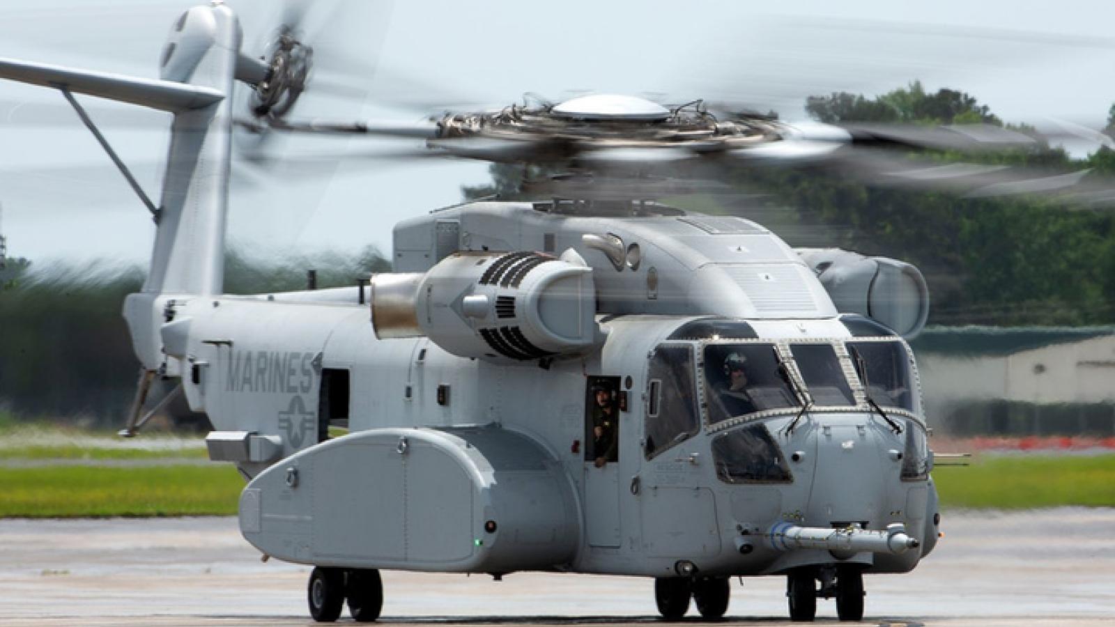"""Vua ngựa thồ """"siêu lợi hại"""" CH-53K King Stallion của Lục quân Mỹ"""
