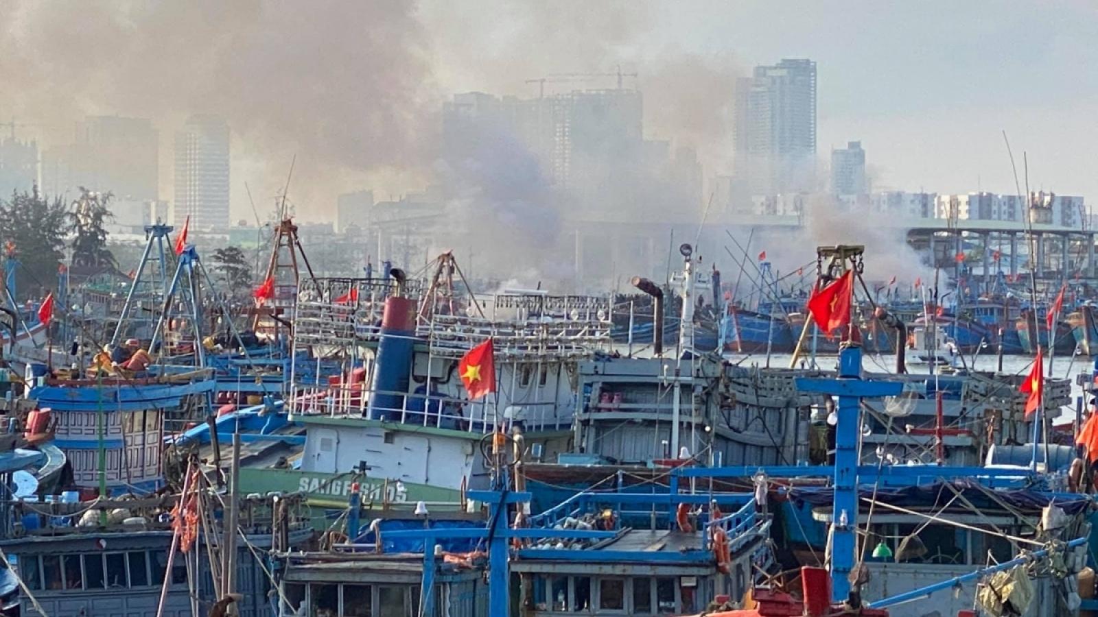 Phòng chống cháy nổ tại nơi neo đậu tàu thuyền