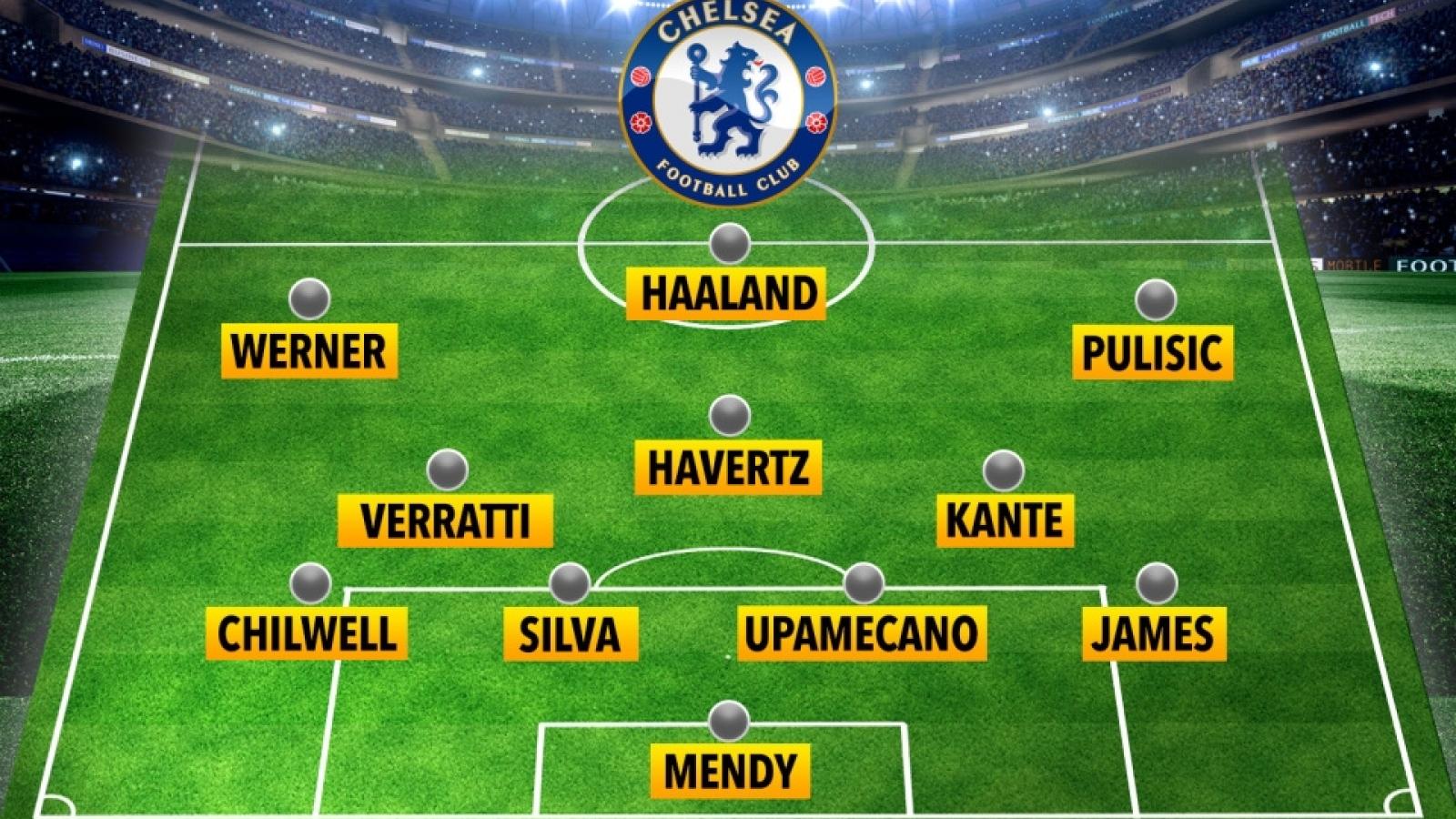 Đội hình đẹp như mơ sẽ giúp Chelsea vô địch Premier League cùng Thomas Tuchel?