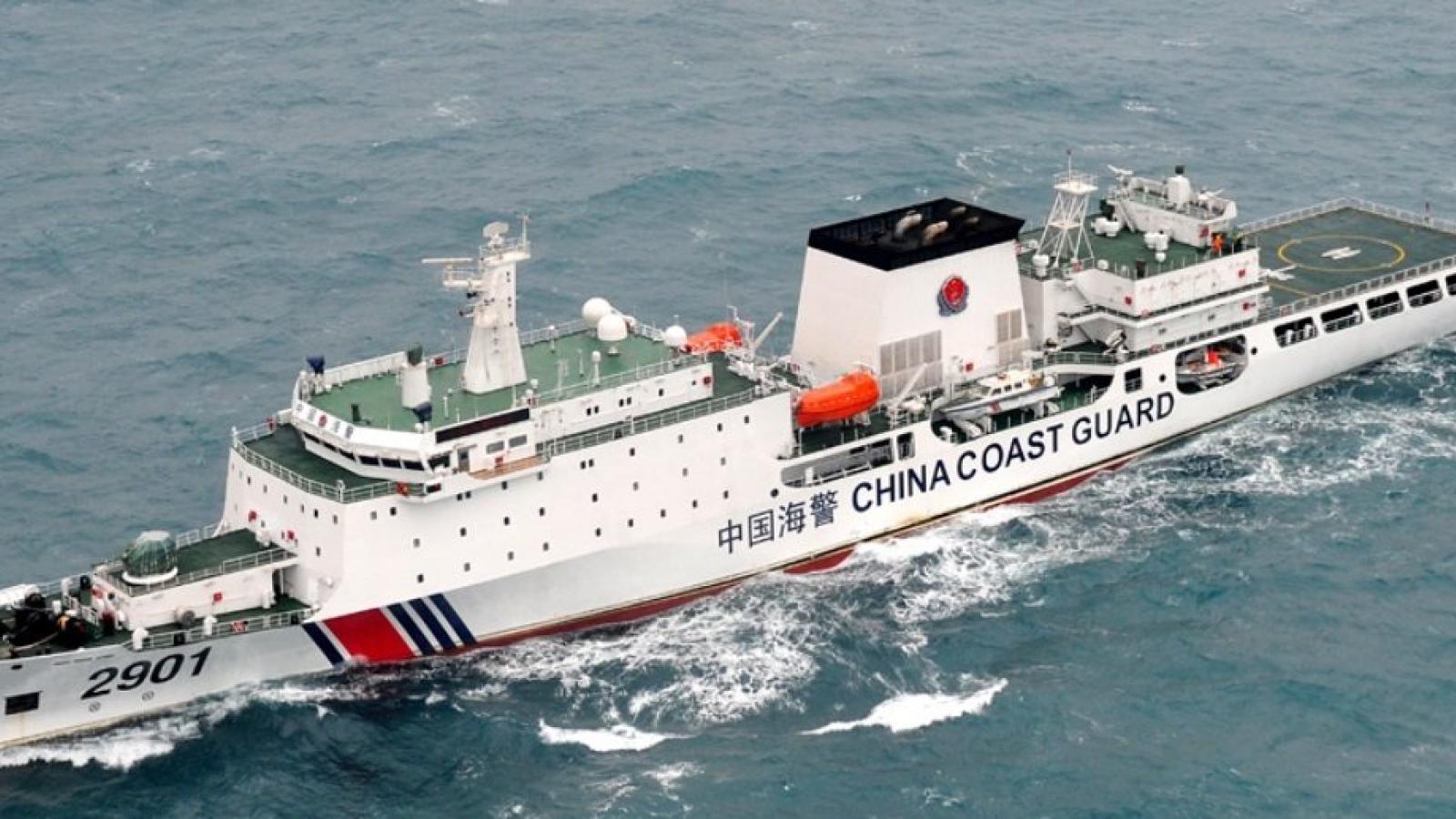 Nhật Bản lập chiến lược đối phó Luật Hải cảnh của Trung Quốc