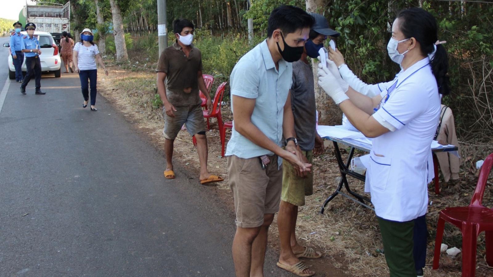 Lập 3 chốt kiểm tra y tế trên các tuyến quốc lộ ra vào tỉnh Bà Rịa - Vũng Tàu