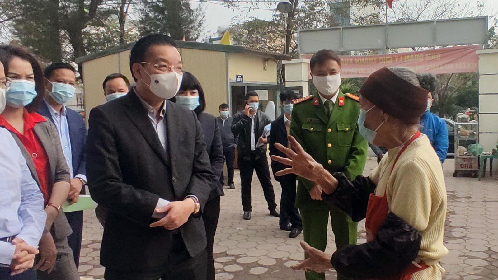 """Chủ tịch TP Hà Nội Chu Ngọc Anh: """"Để lọt một ca Covid-19 thì công sức đổ sông, đổ biển"""""""