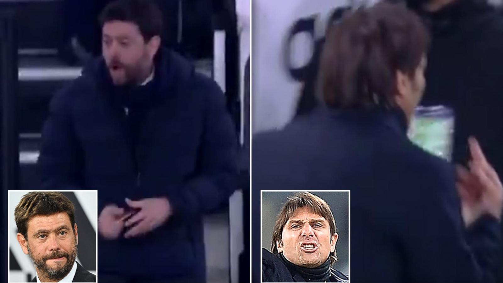 Ronaldo lu mờ vì màn khẩu chiến sau trận Juventus gặp Inter