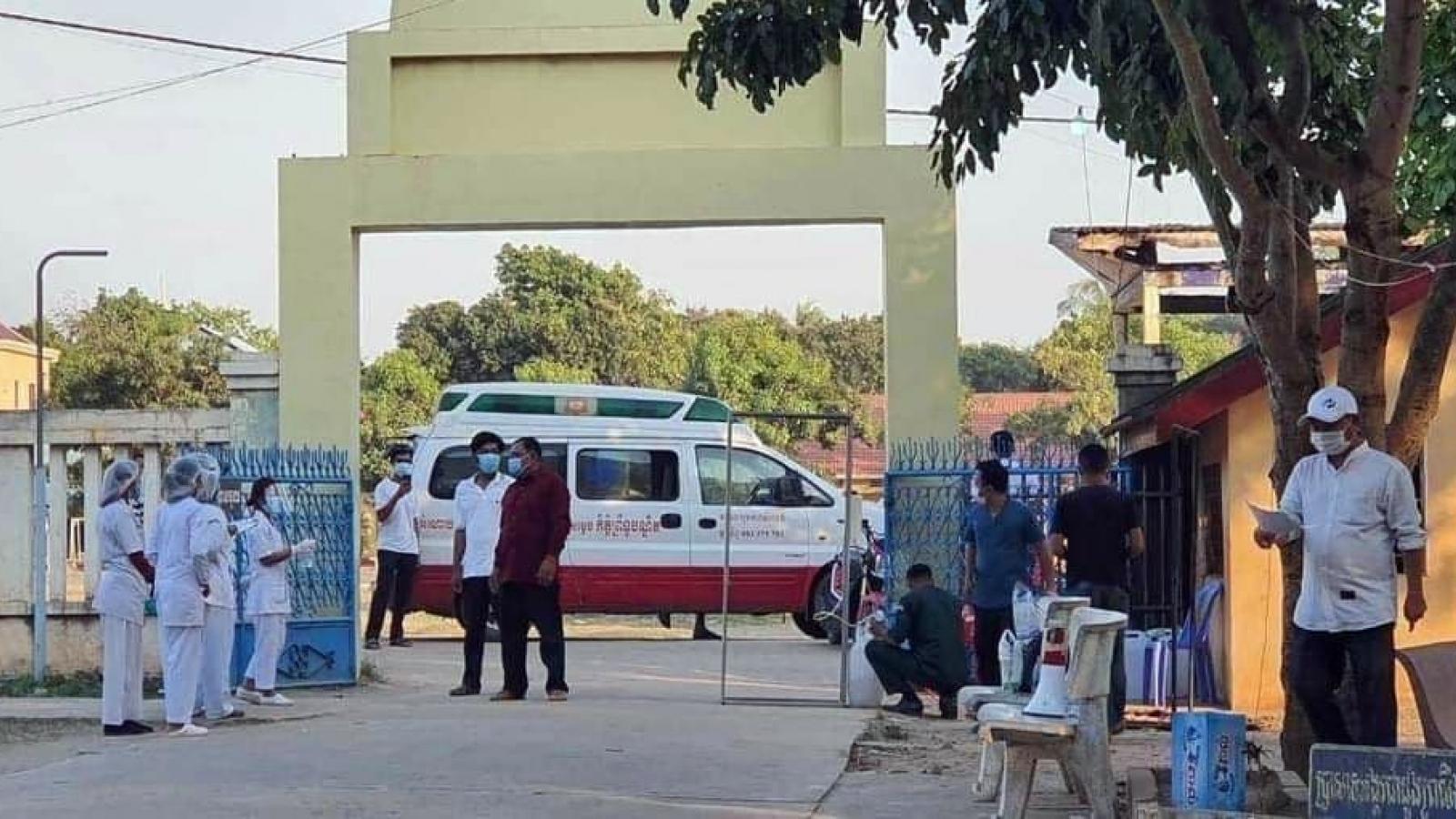 Campuchia 3 ngày liên tiếp phát hiện ca lây nhiễm Covid-19 trong cộng đồng