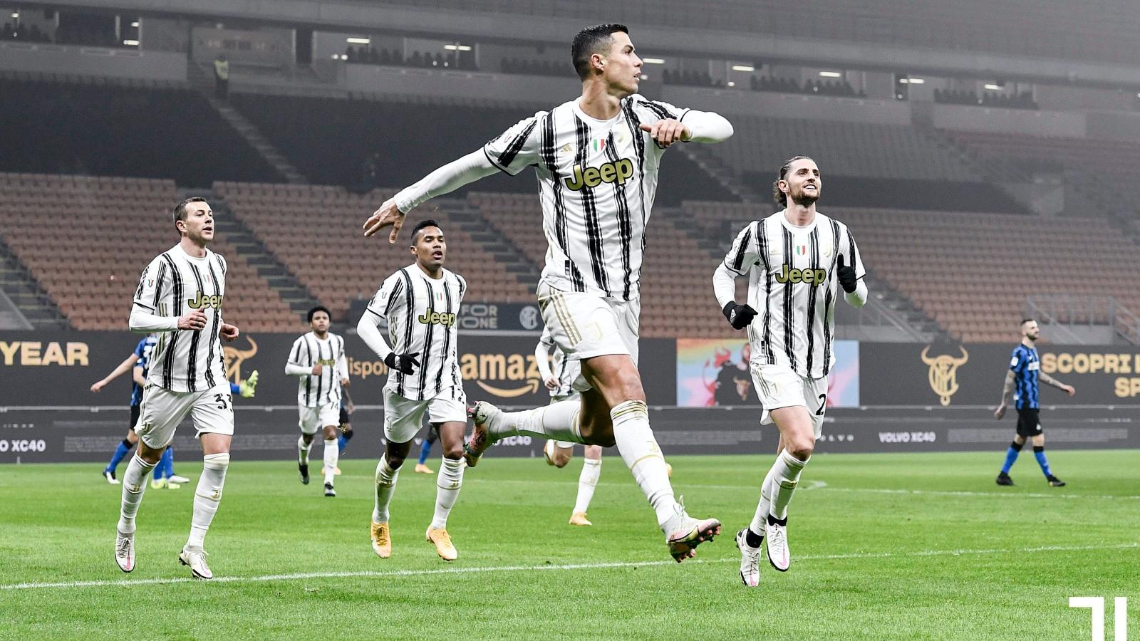 Xem lại bóng đá Inter Milan vs Juventus, Coppa Italia – 03/02/2021