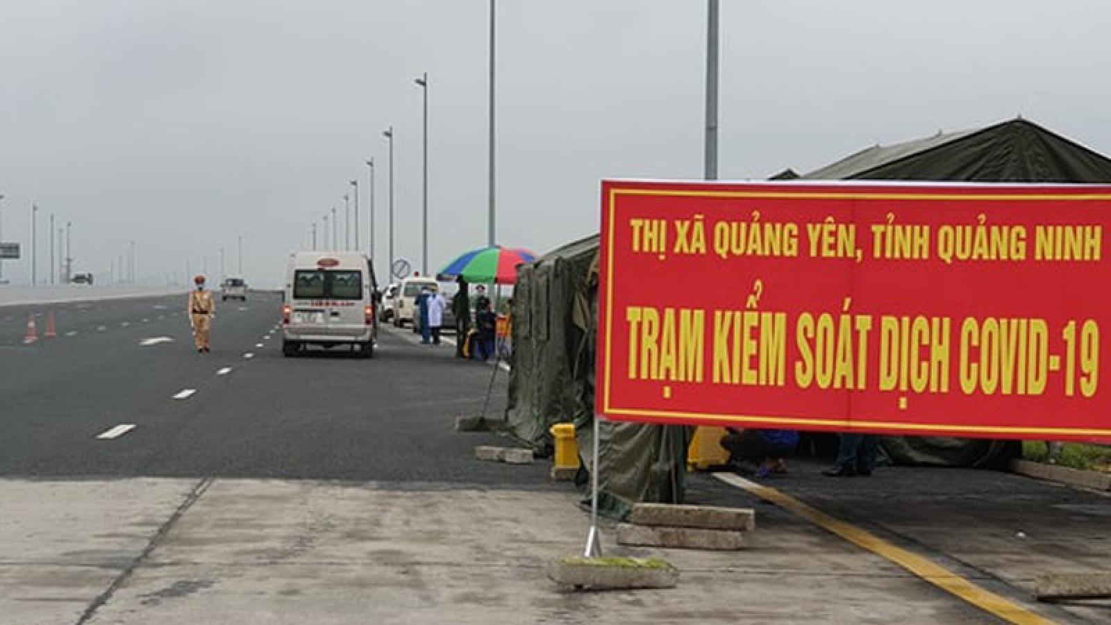 Yêu cầu phân luồng giao thông từ xa những địa phương bị phong tỏa để phòng Covid-19
