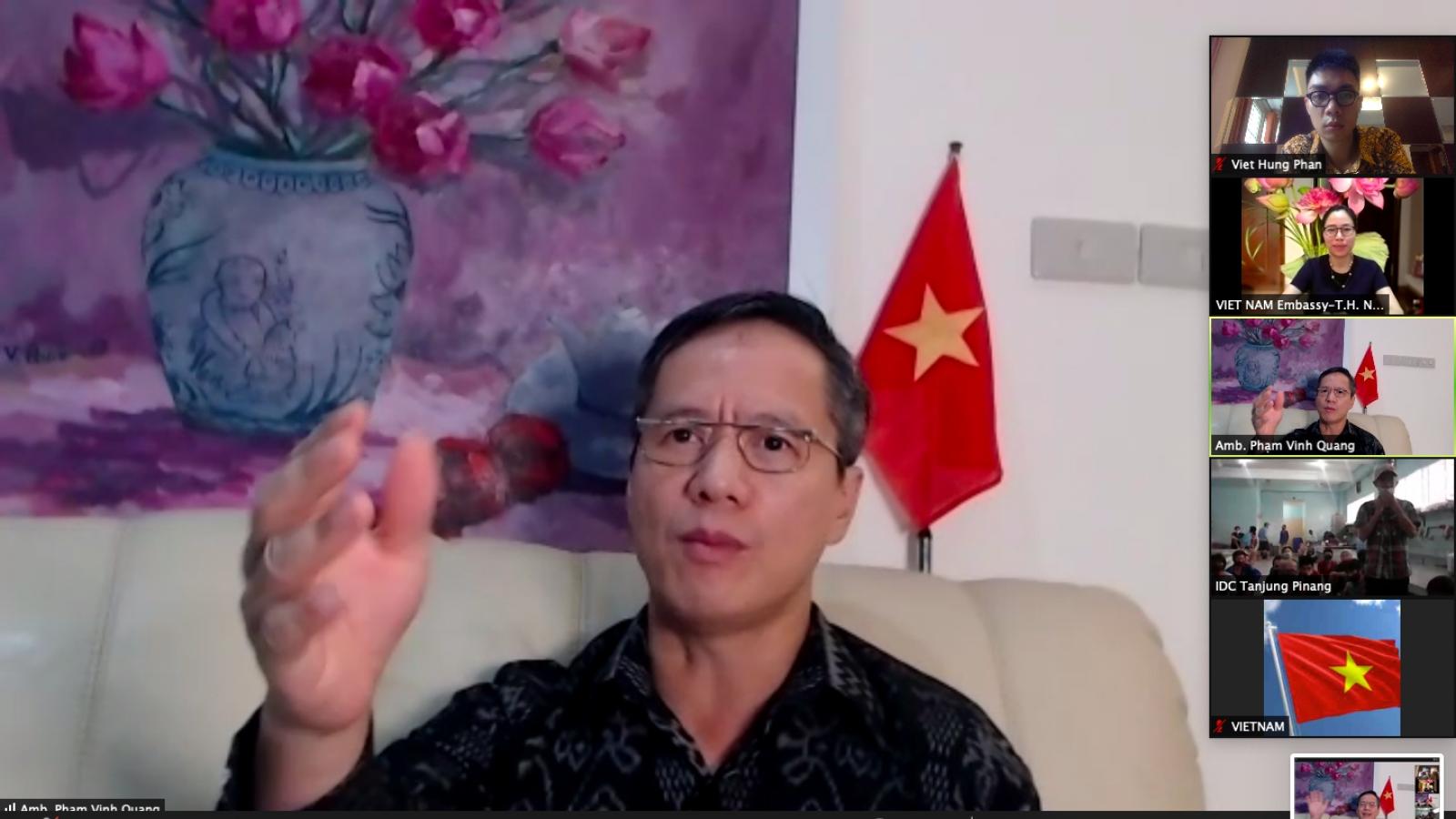 ĐSQ Việt Nam thăm lãnh sự, chúc Tết ngư dân bị tạm giữ ở Indonesia