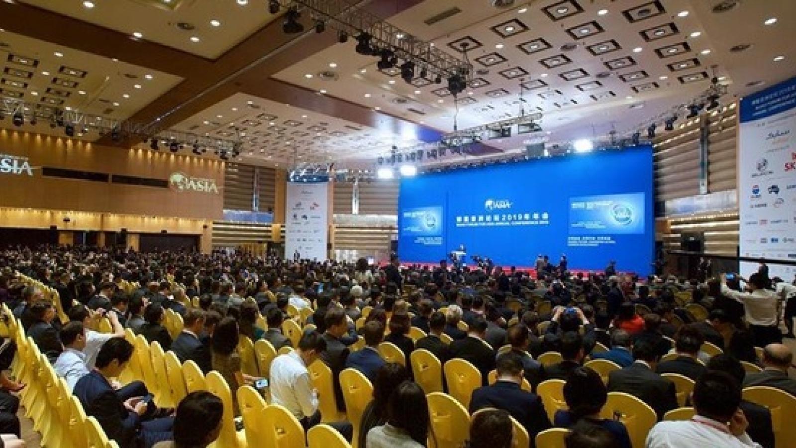 Trung Quốc nốilại việc tổ chứcDiễn đàn châu Á Bác Ngao
