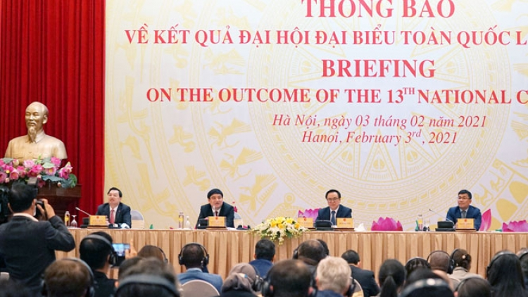 Int'l organisations briefed on outcome of Vietnam Party Congress
