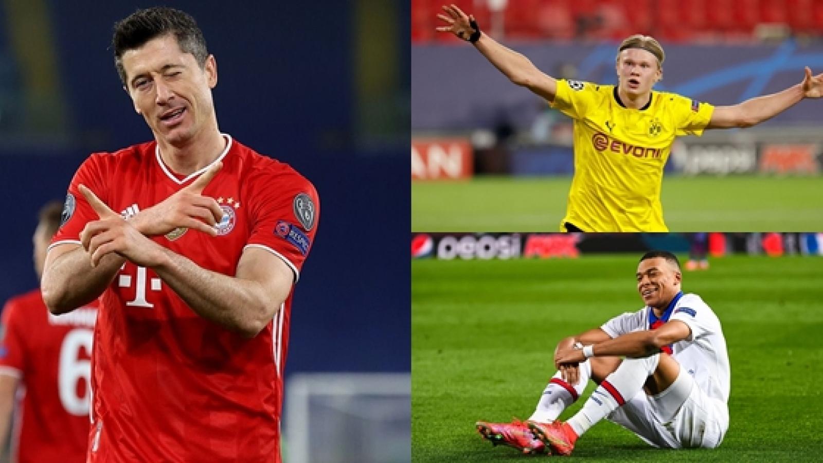 Đội hình hay nhất lượt đi vòng 1/8 Champions League