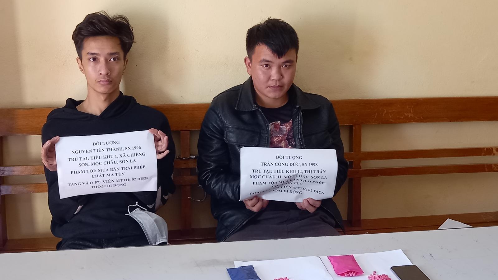 Bộ đội Biên phòng Sơn La bắt giữ các đối tượng mua bán trái phép chất ma túy