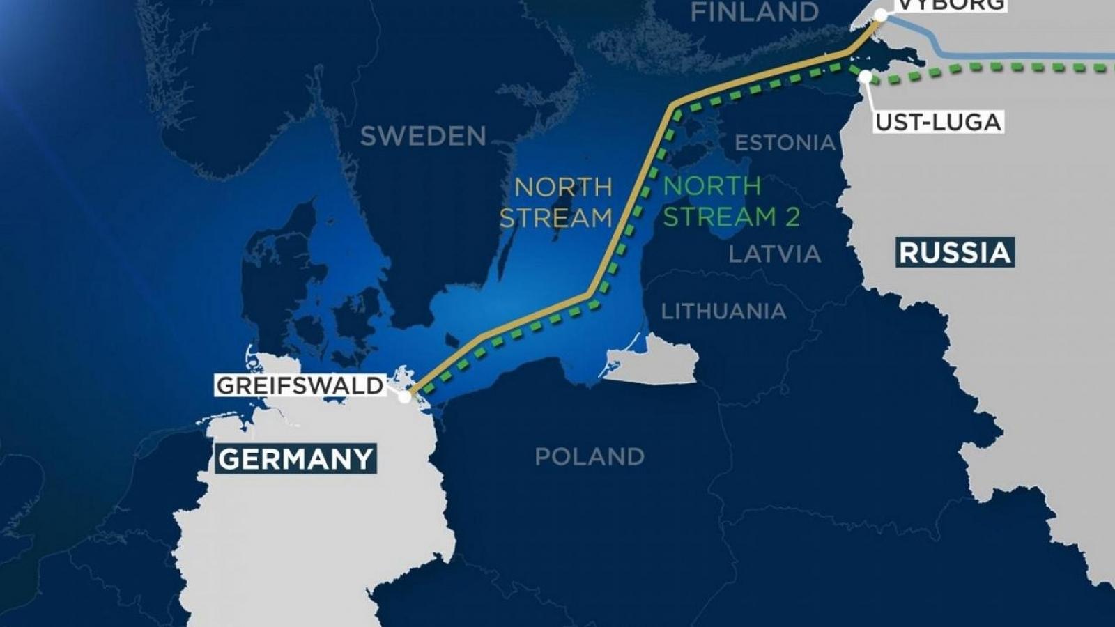 Đức không hủy dự án Dòng chảy phương Bắc 2 bất chấp căng thẳng với Nga