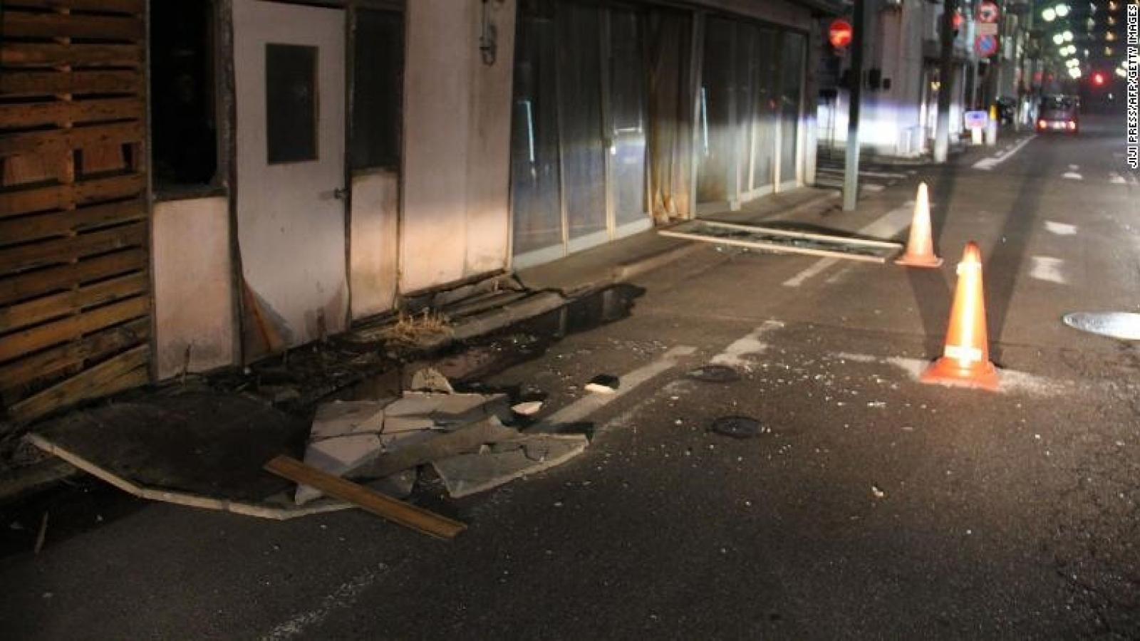 Có khả năng Nhật Bản lại hứng chịu trận động đất lớn tiếp sau một tuần nữa
