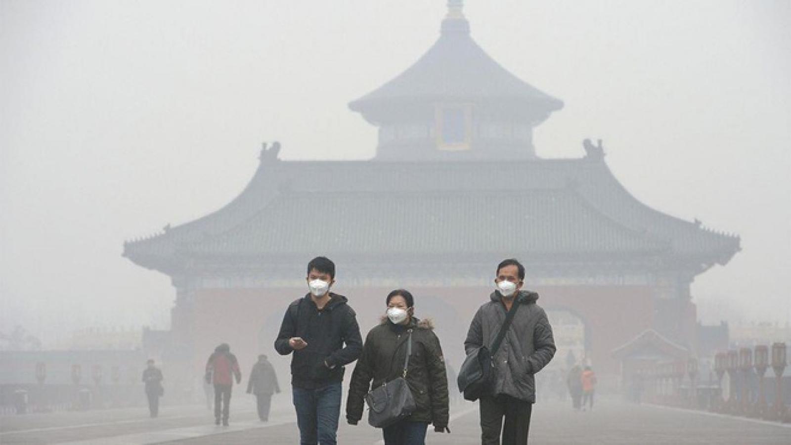 67 thành phố ở Trung Quốc cảnh báo ô nhiễm nặng dịp Tết nguyên đán