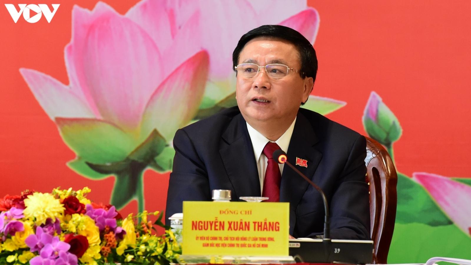 """Ông Nguyễn Xuân Thắng: """"Chống tham nhũng tốt sẽ hạn chế tình trạng tự diễn biến"""""""