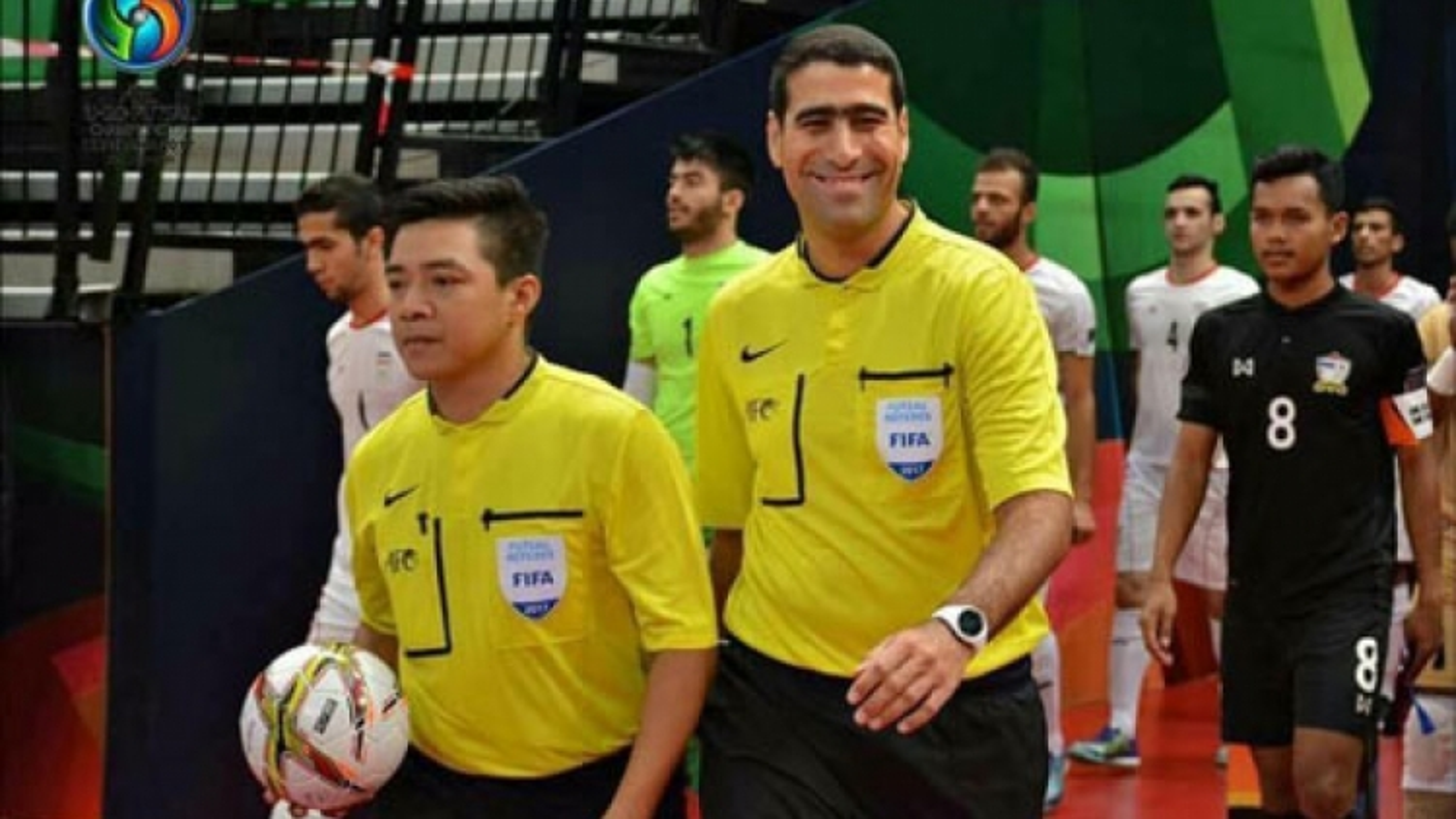 Vietnamese referee vies for berth at Futsal World Cup