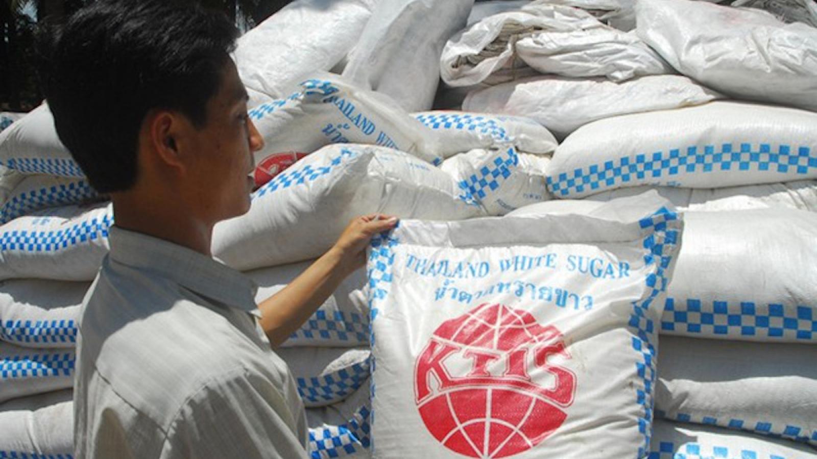 Tạm thu thuế chống bán phá giá đường mía Thái Lan ở mức 33,88%
