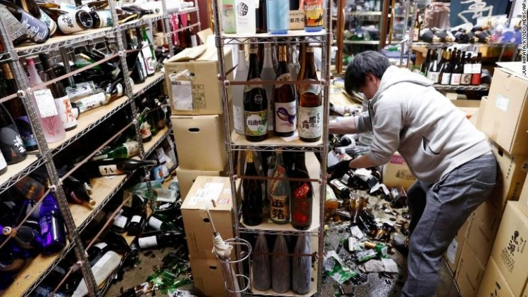 No Vietnamese casualties recorded in Japanese earthquake