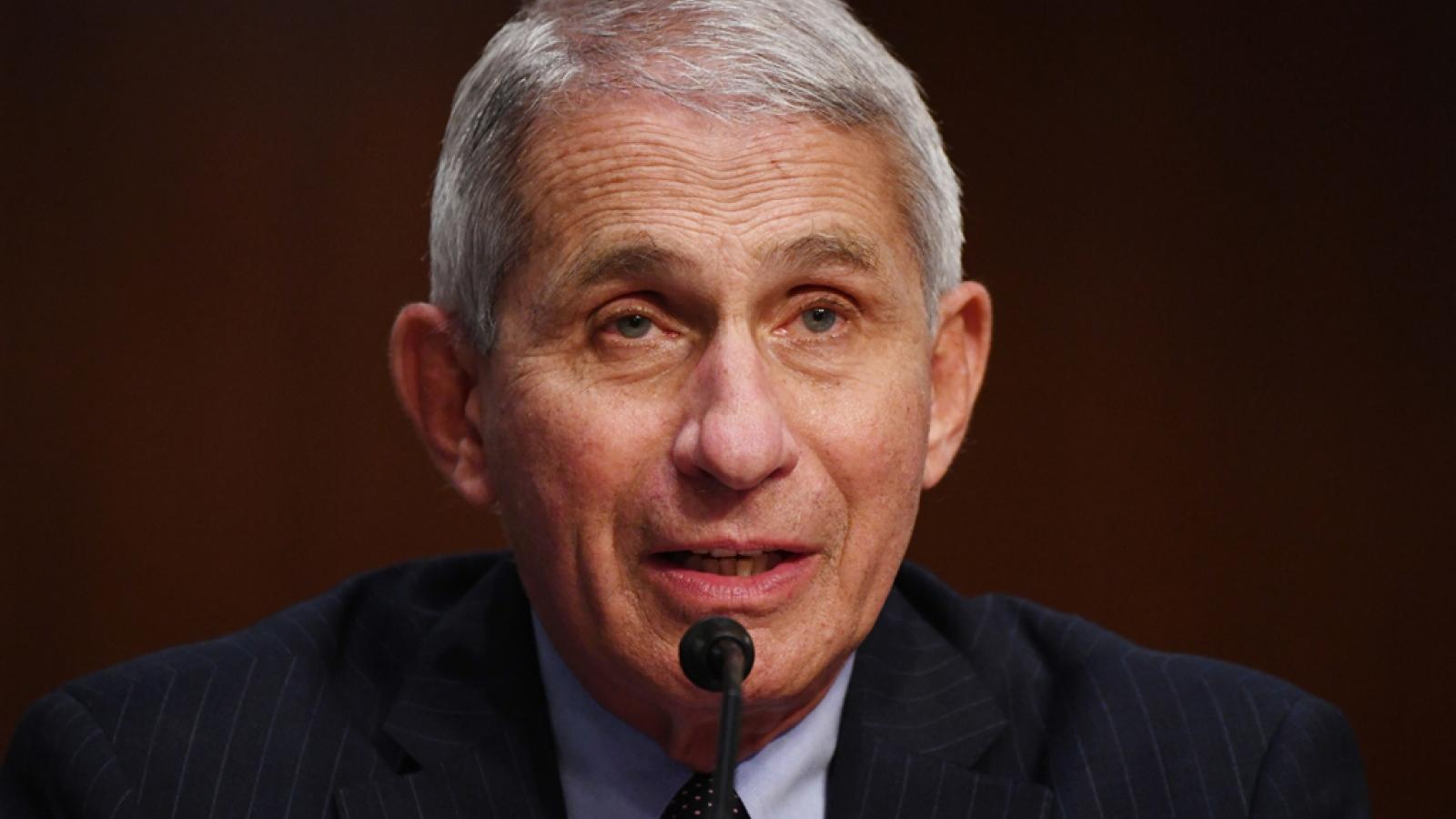 Tiến sĩ Fauci kêu gọi Quốc hội Mỹ thông qua dự luật cứu trợ để mở cửa lại trường học