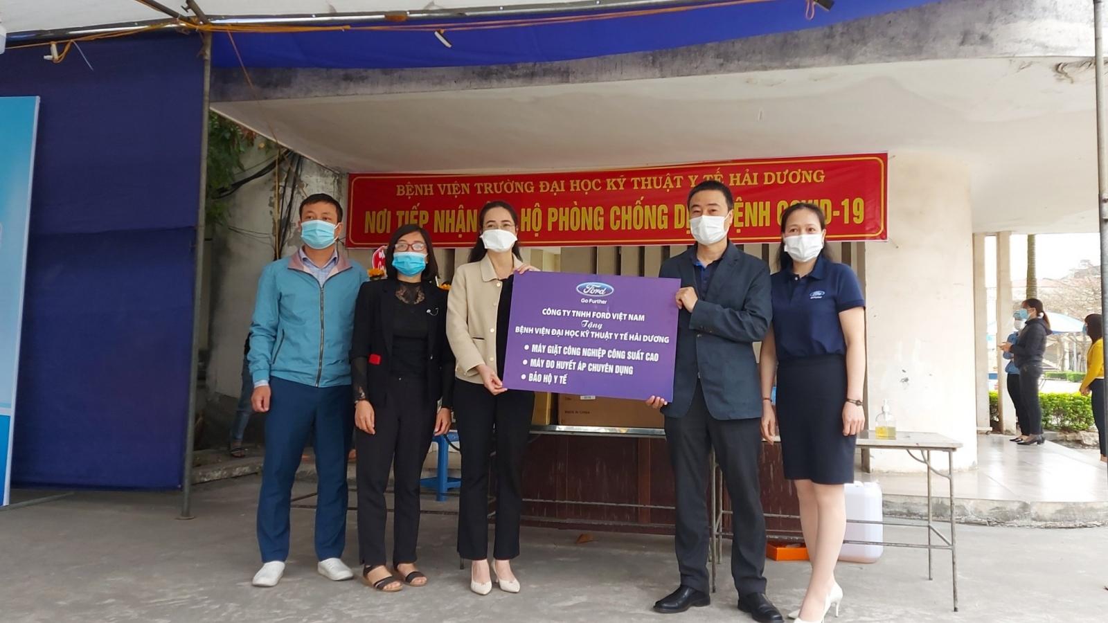 Ford Việt Nam hỗ trợ tỉnh Hải Dương phòng, chống dịch Covid-19