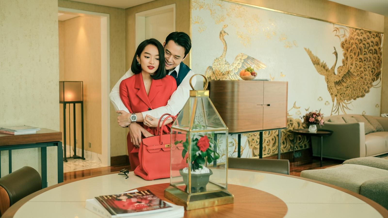 """Những cảnh thân mật của Kaity Nguyễn trong """"Gái già lắm chiêu V"""""""