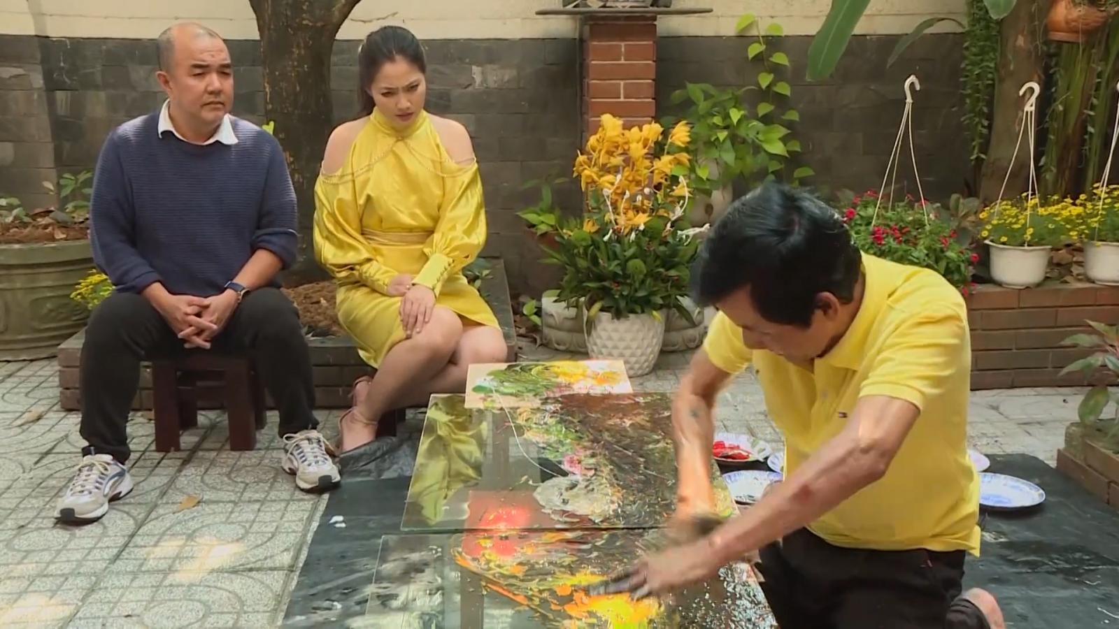 MC Quốc Thuận và Ngọc Lan bất ngờ về cuộc sống của họa sĩ ngoại cảm Đoàn Việt Tiến