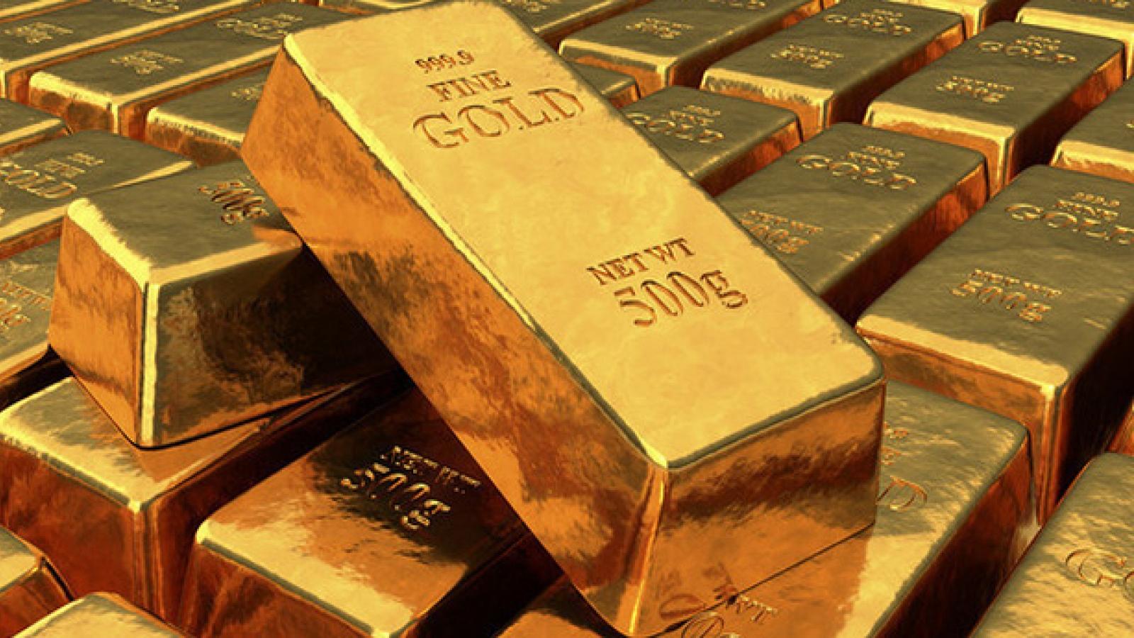 Giá vàng trong nước và thế giới cùng giảm nhẹ
