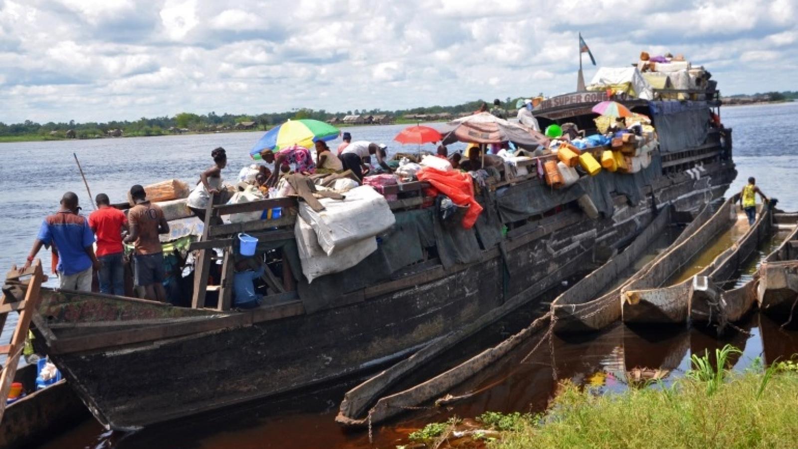 Tai nạn đường sông ở Congo, ít nhất 60 người thiệt mạng