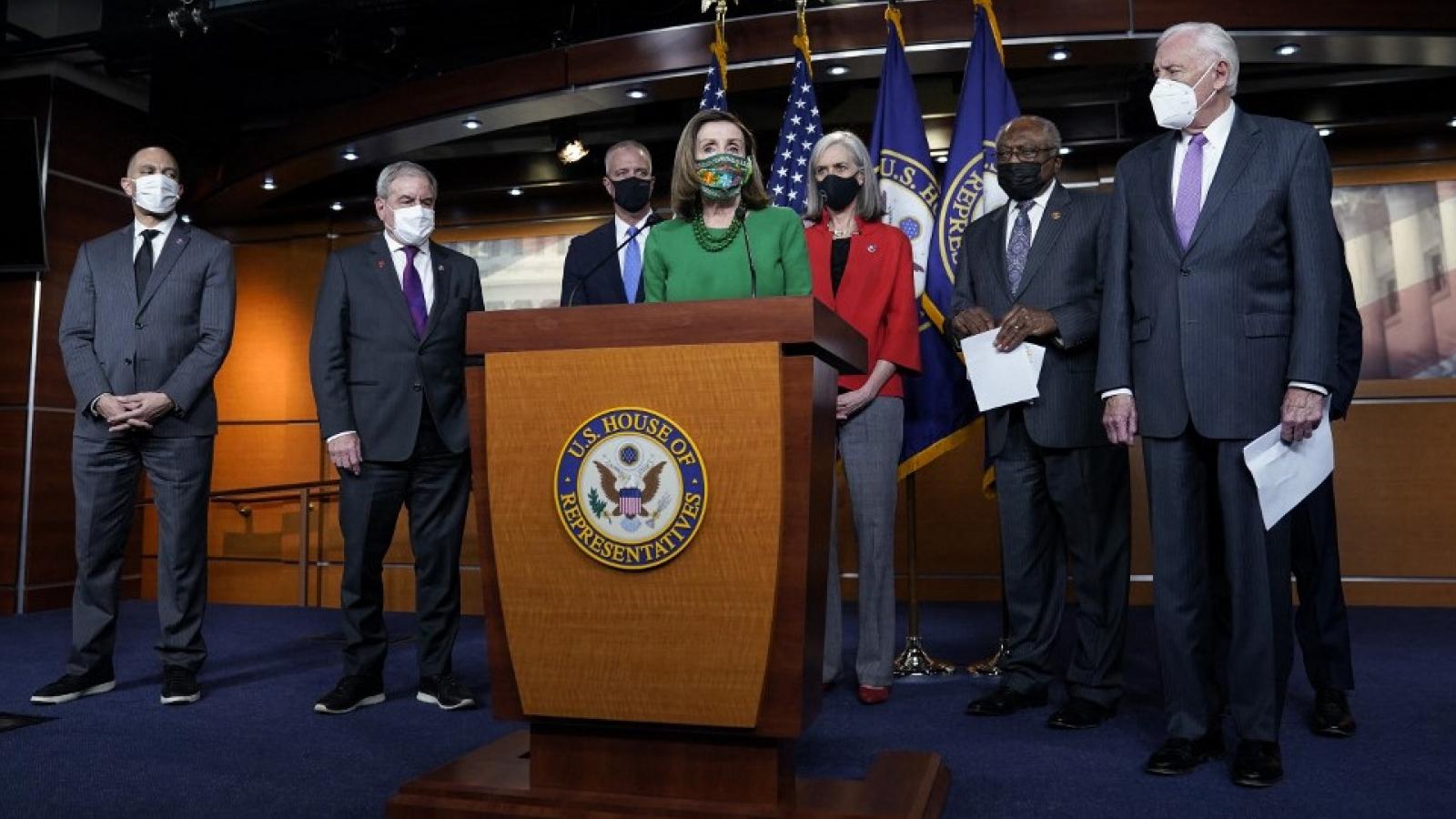 Hạ viện Mỹ thông qua gói cứu trợ đại dịch Covid-19 trị giá 1.900 tỷ USD