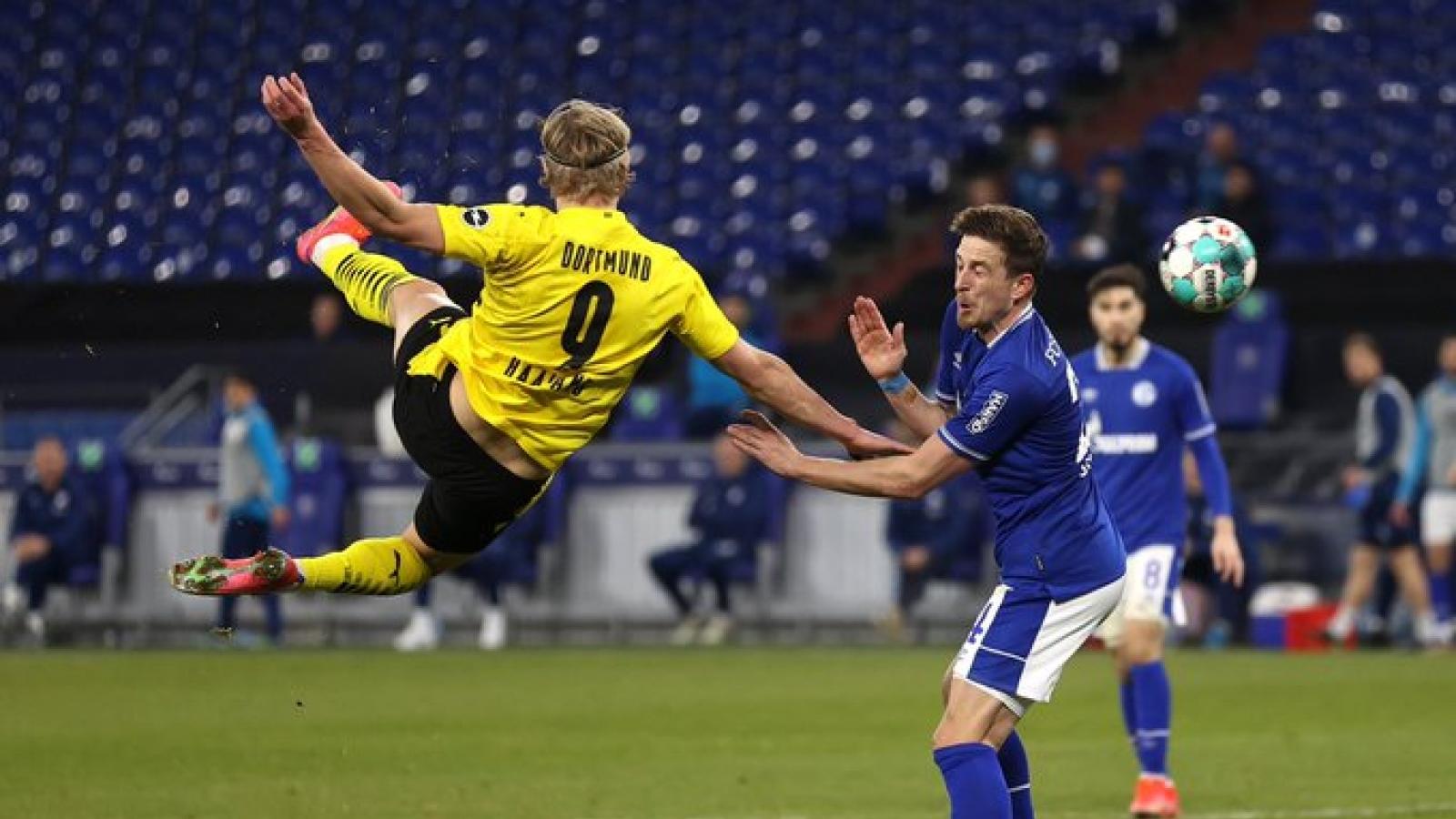 Haaland, Sancho cùng nhau đi vào lịch sử Bundesliga