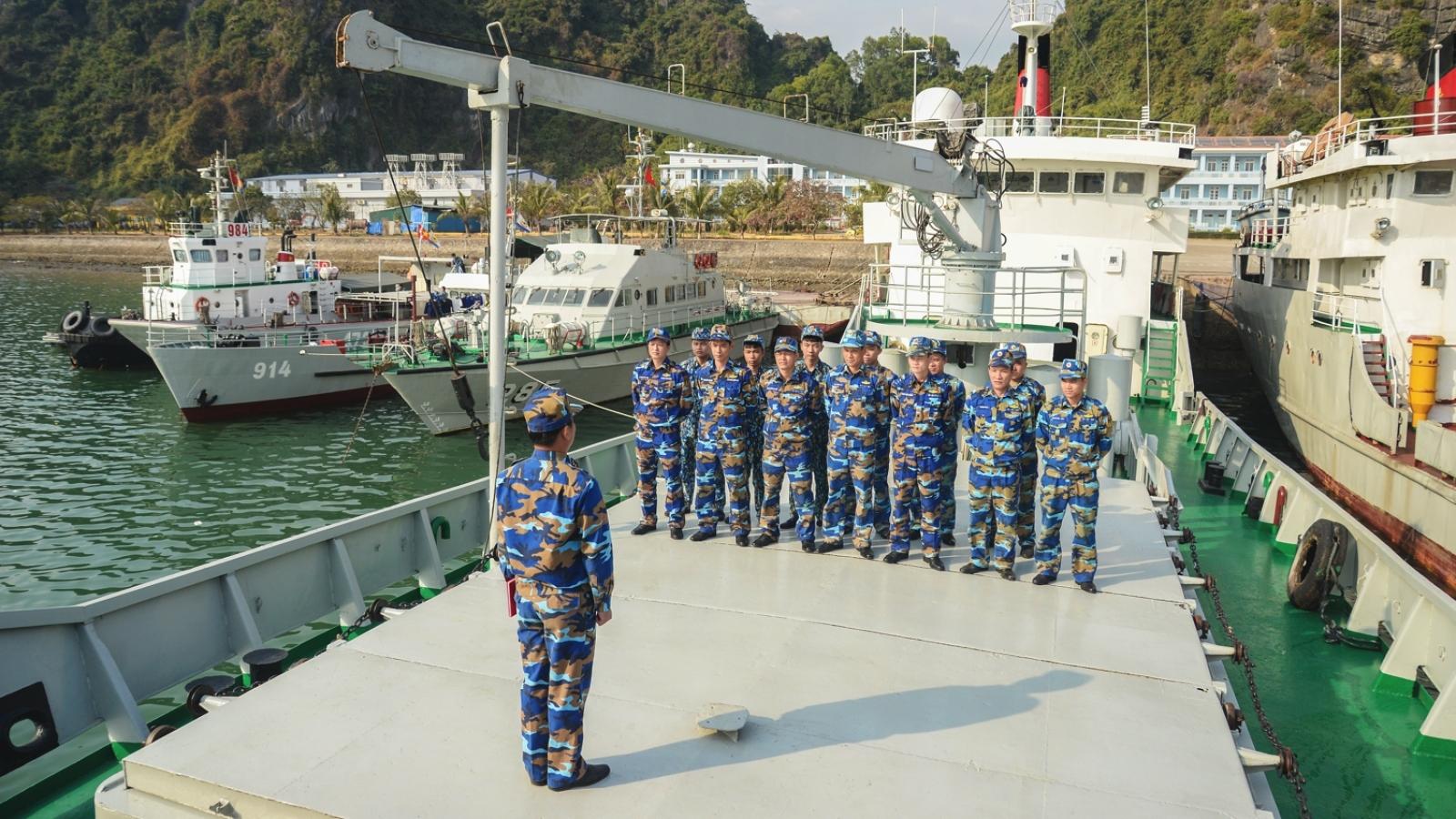 Tết của người lính biển Đông Bắc
