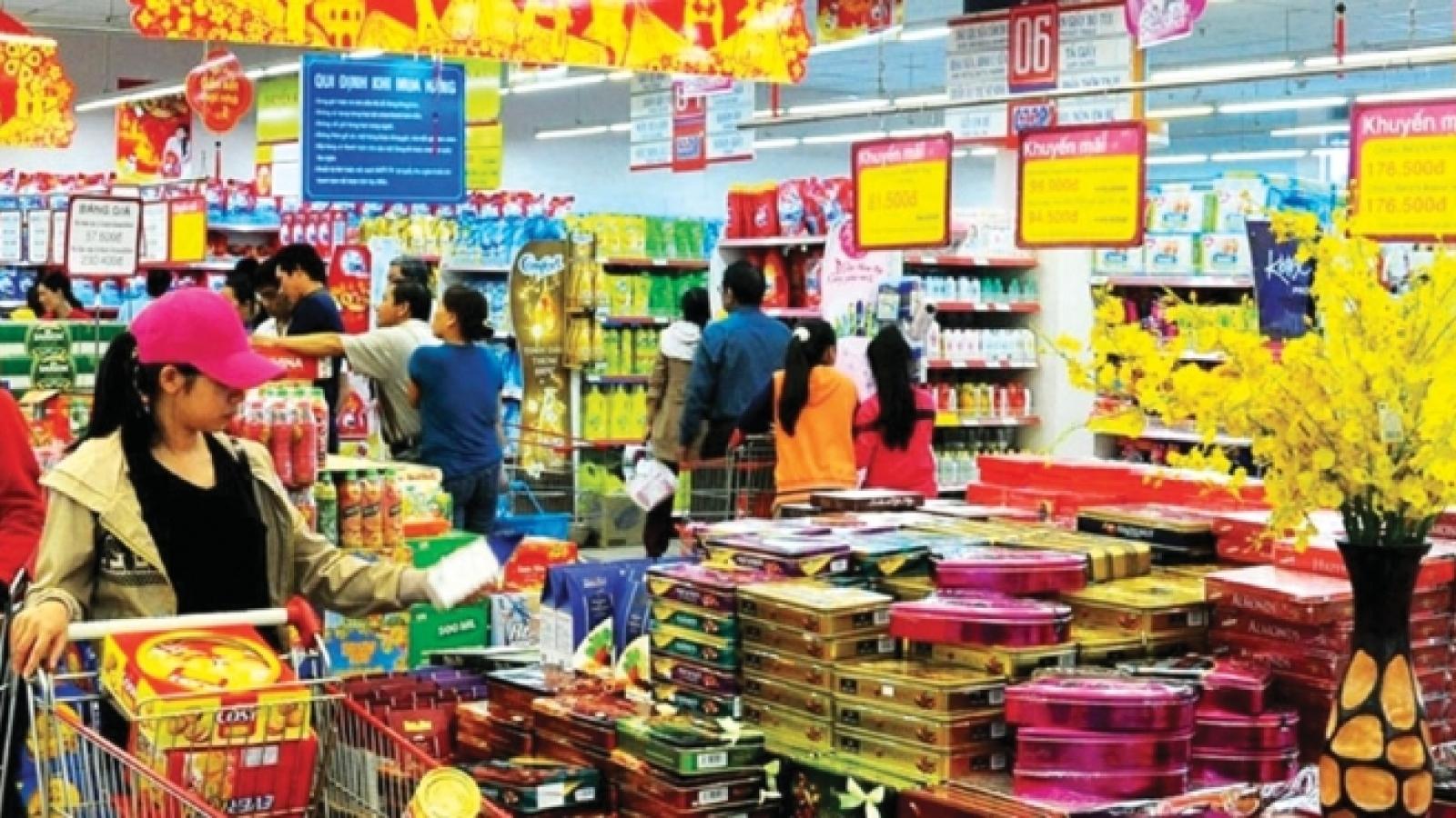 Giá các loại thực phẩm tăng từ 5-15% trong ngày 29 Tết