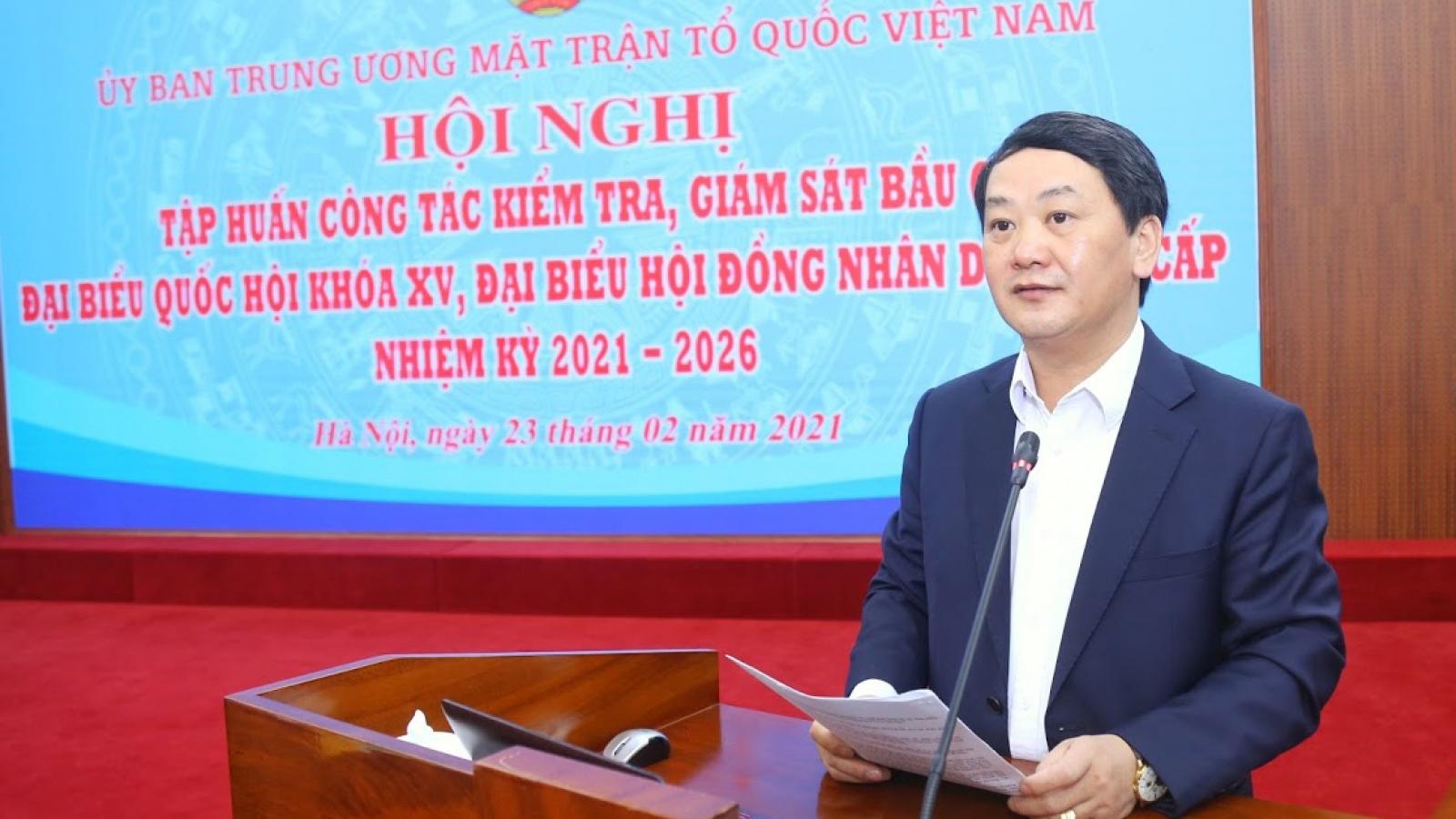 1.076 người được giới thiệu ứng cử ĐBQH khóa XV sau Hội nghị hiệp thương lần 1