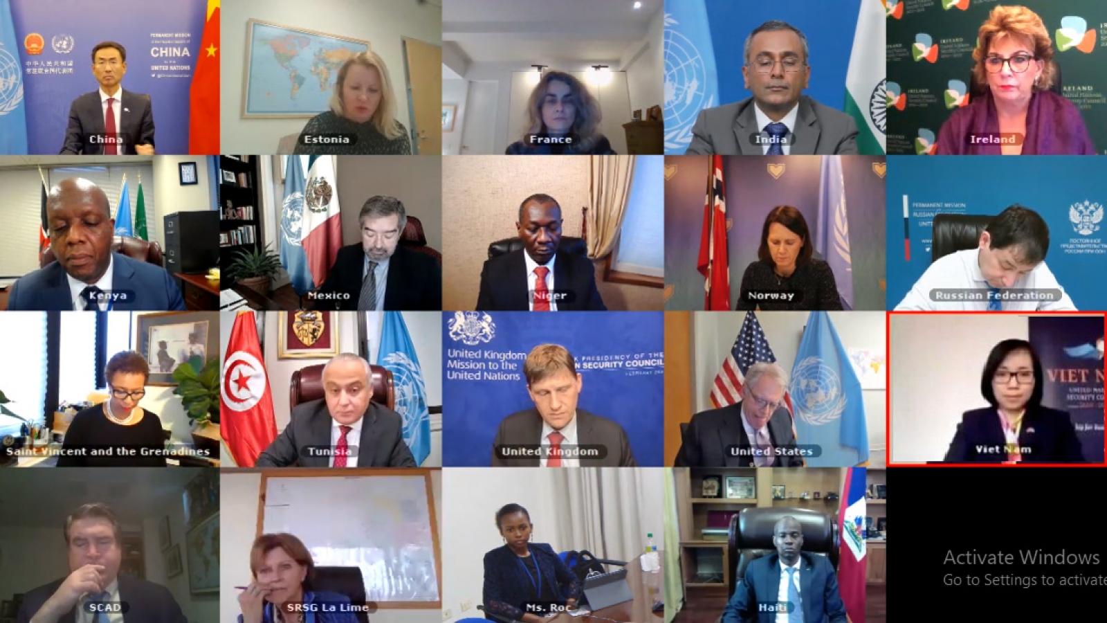 Hội đồng Bảo an Liên Hợp Quốc họp về Haiti và Somali