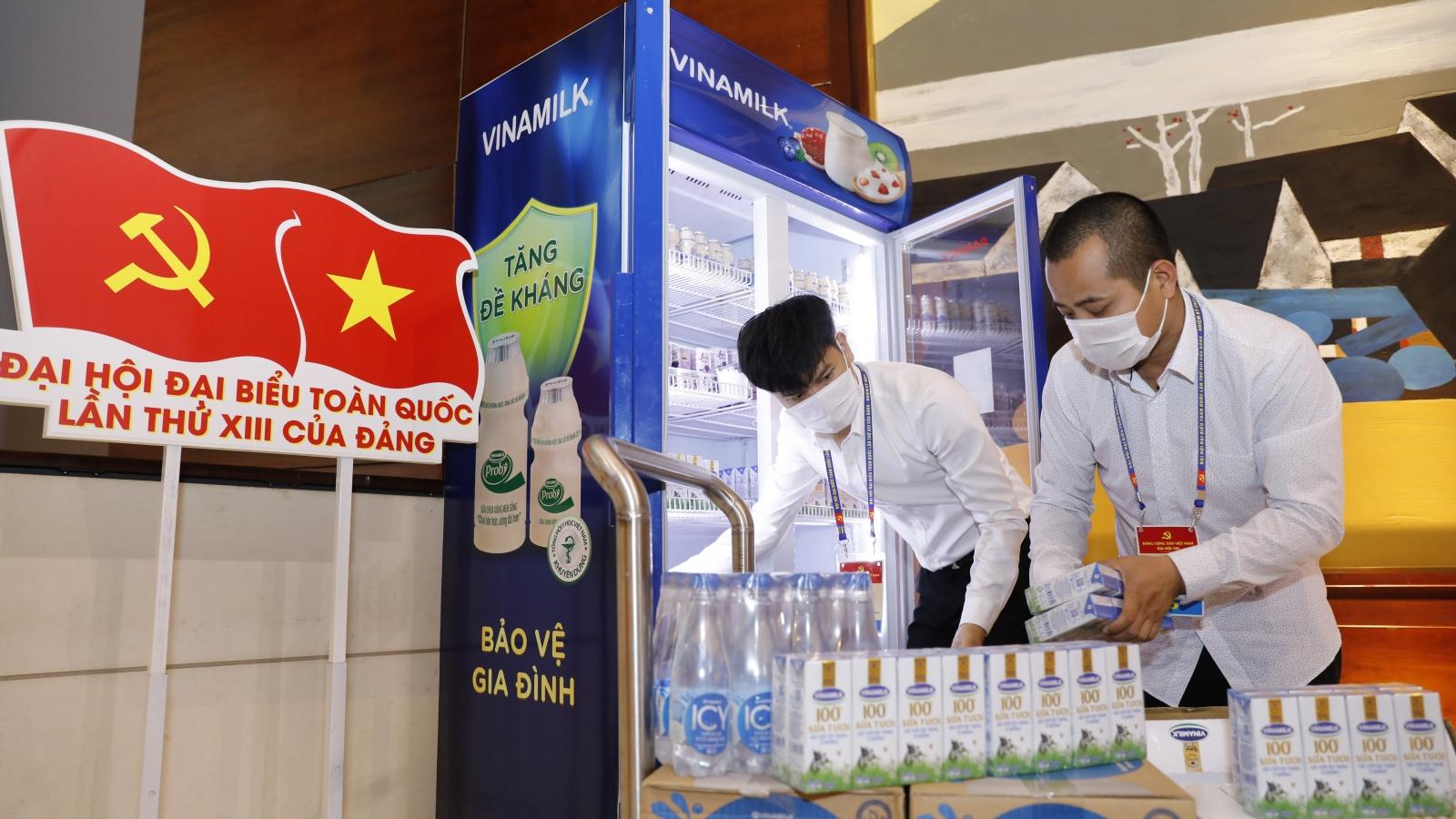 Sản phẩm Vinamilk vinh dự được chọn phục vụ cho các sự kiện lớn của quốc gia năm 2020
