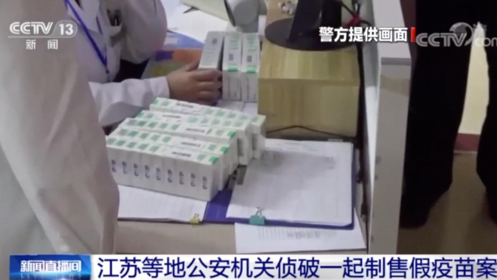 Trung Quốc bắt hơn 80 người liên quan đến vaccine Covid-19 giả