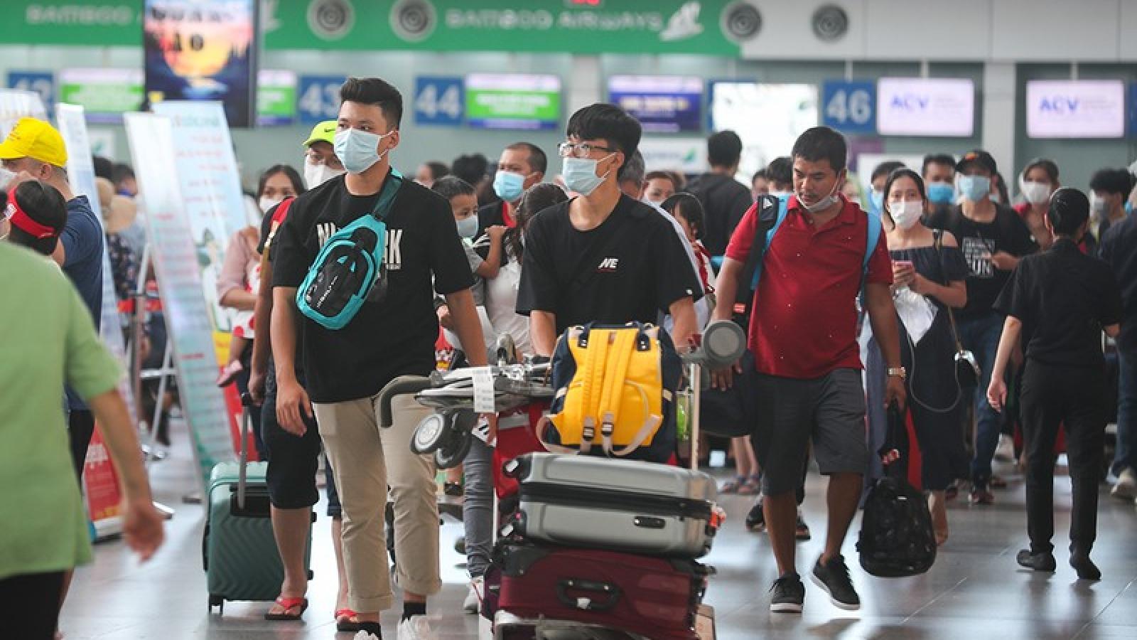 Không khai báo y tế, hành khách sẽ không được lên máy bay