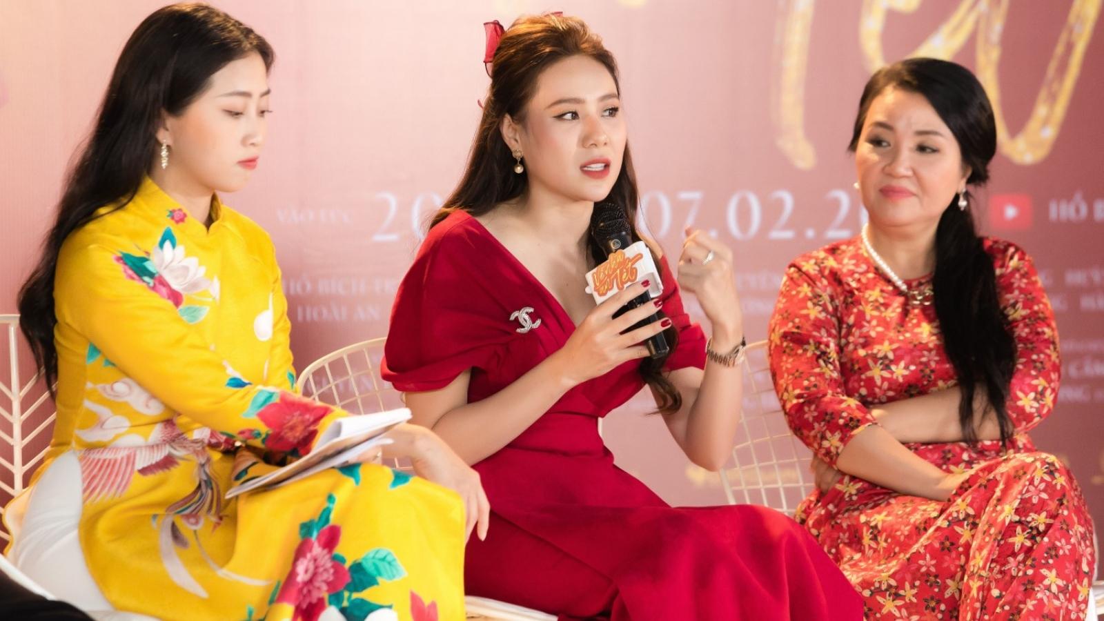 """Hồ Bích Trâm chia sẻ từng bị stress nặng khi làm web drama """"Về nhà ăn Tết"""""""
