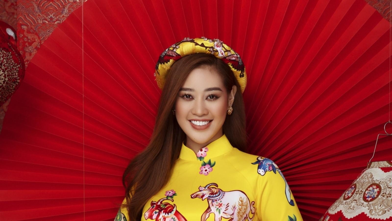 """Hoa hậu Khánh Vân: """"Tôi thích không khí của Tết xưa hơn"""""""