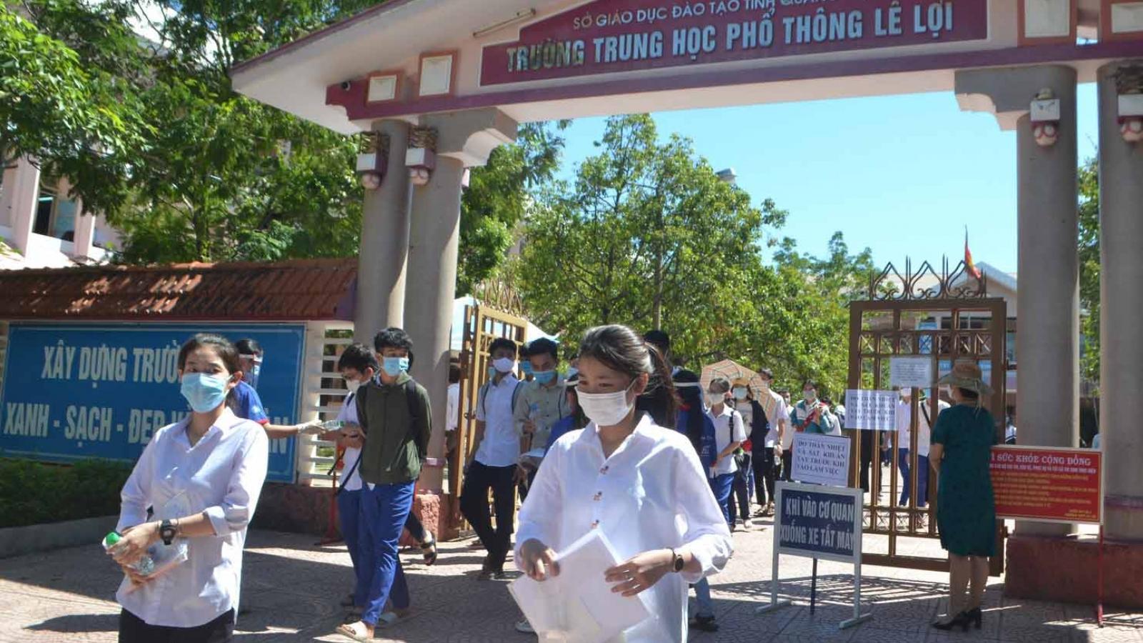 Quảng Bình và Quảng Trị cho học sinh nghỉ Tết sớm