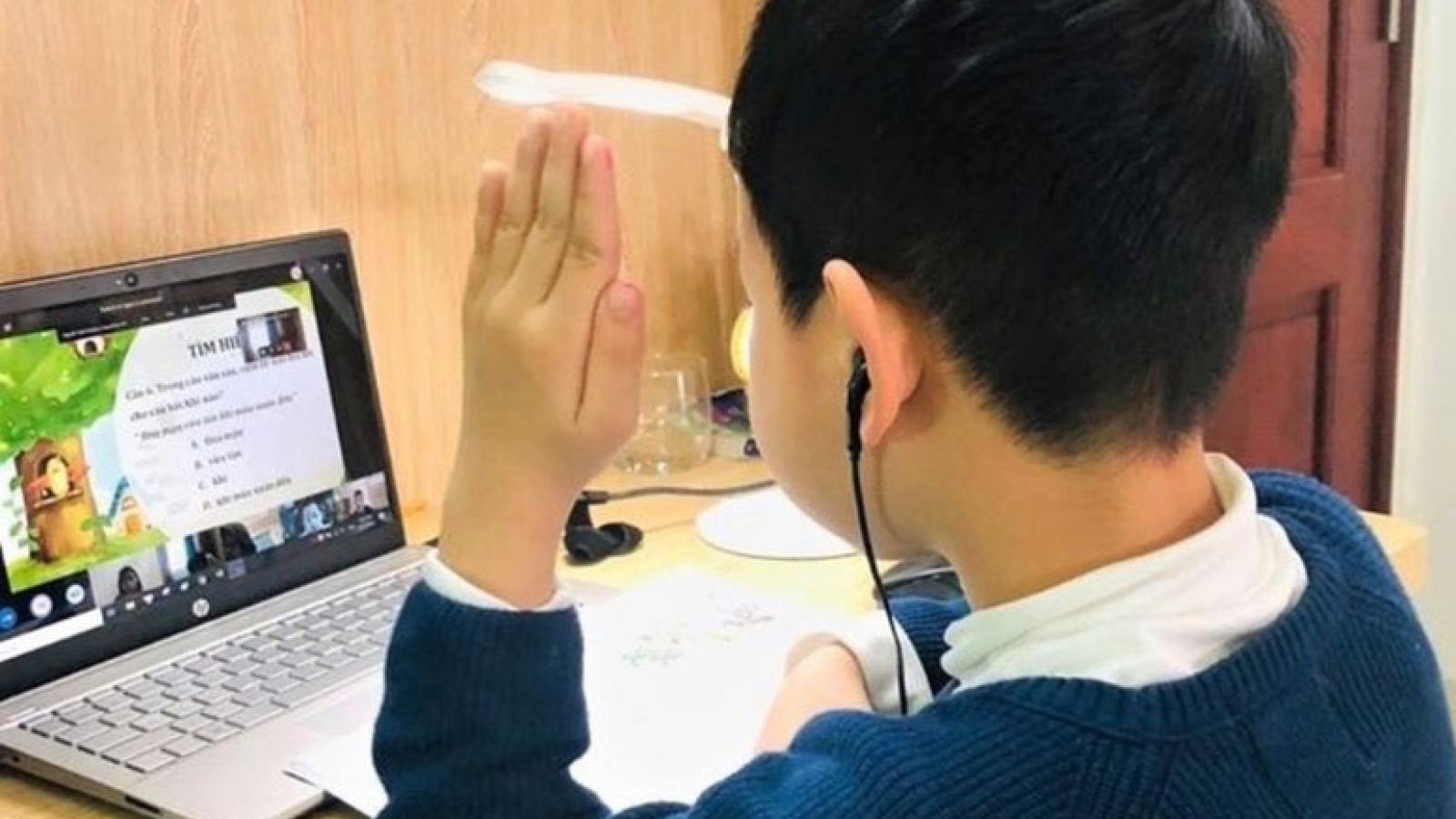 Ngày 15/2,Hà Nội chốt phương án cho học sinh đi học hay học trực tuyến