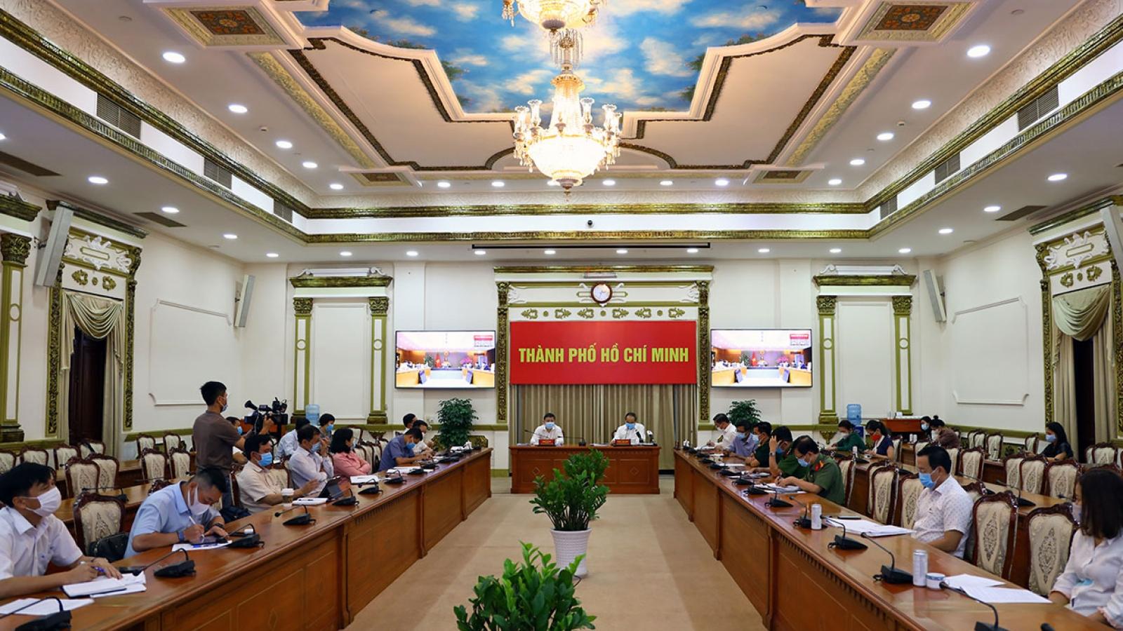 """Ông Nguyễn Thiện Nhân: """"TPHCM cần công bố kế hoạch dập dịch trong 4 tuần"""""""