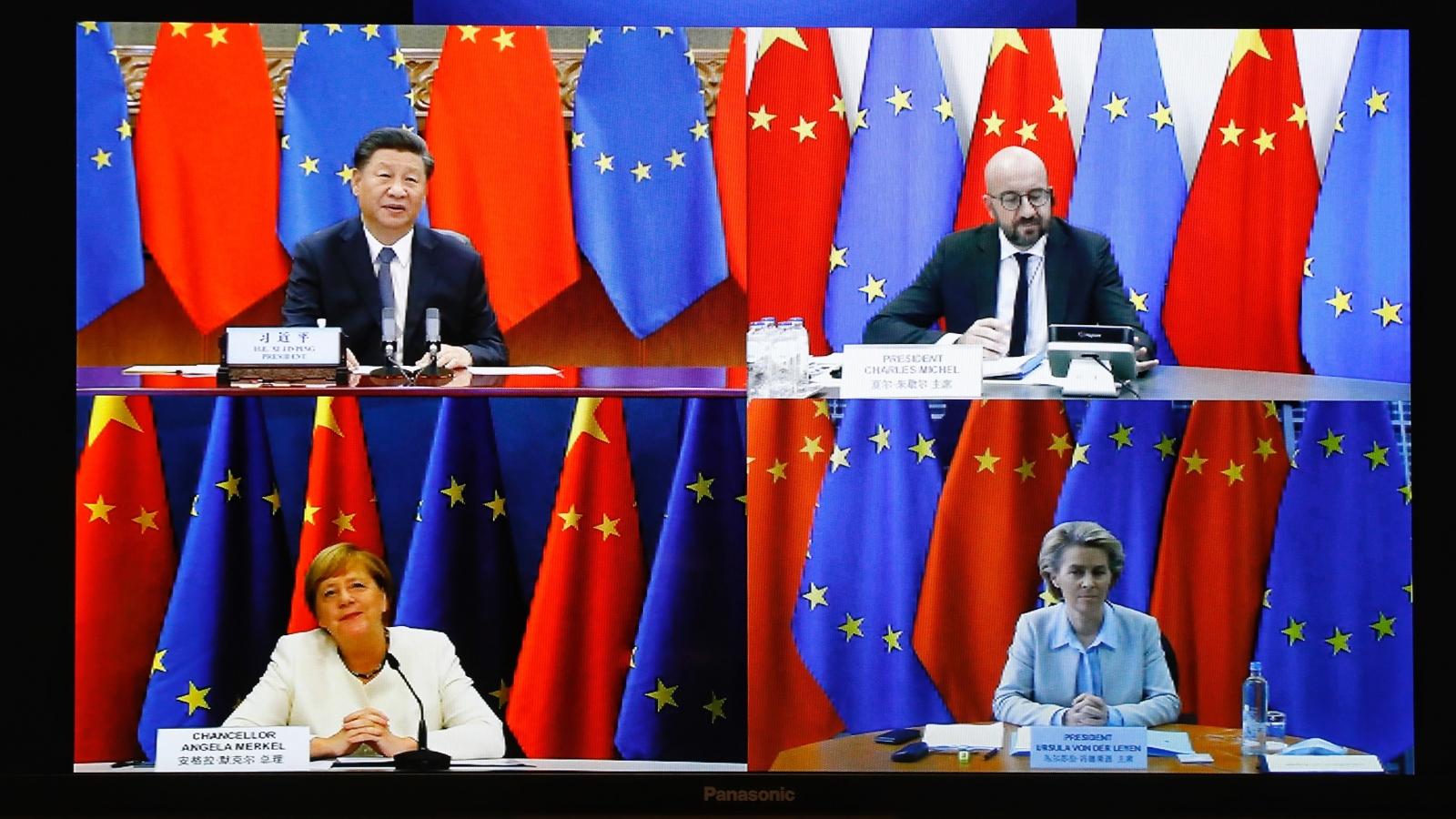 Châu Âu cân bằng mối quan hệ với Mỹ và Trung Quốc bằng cách nào?