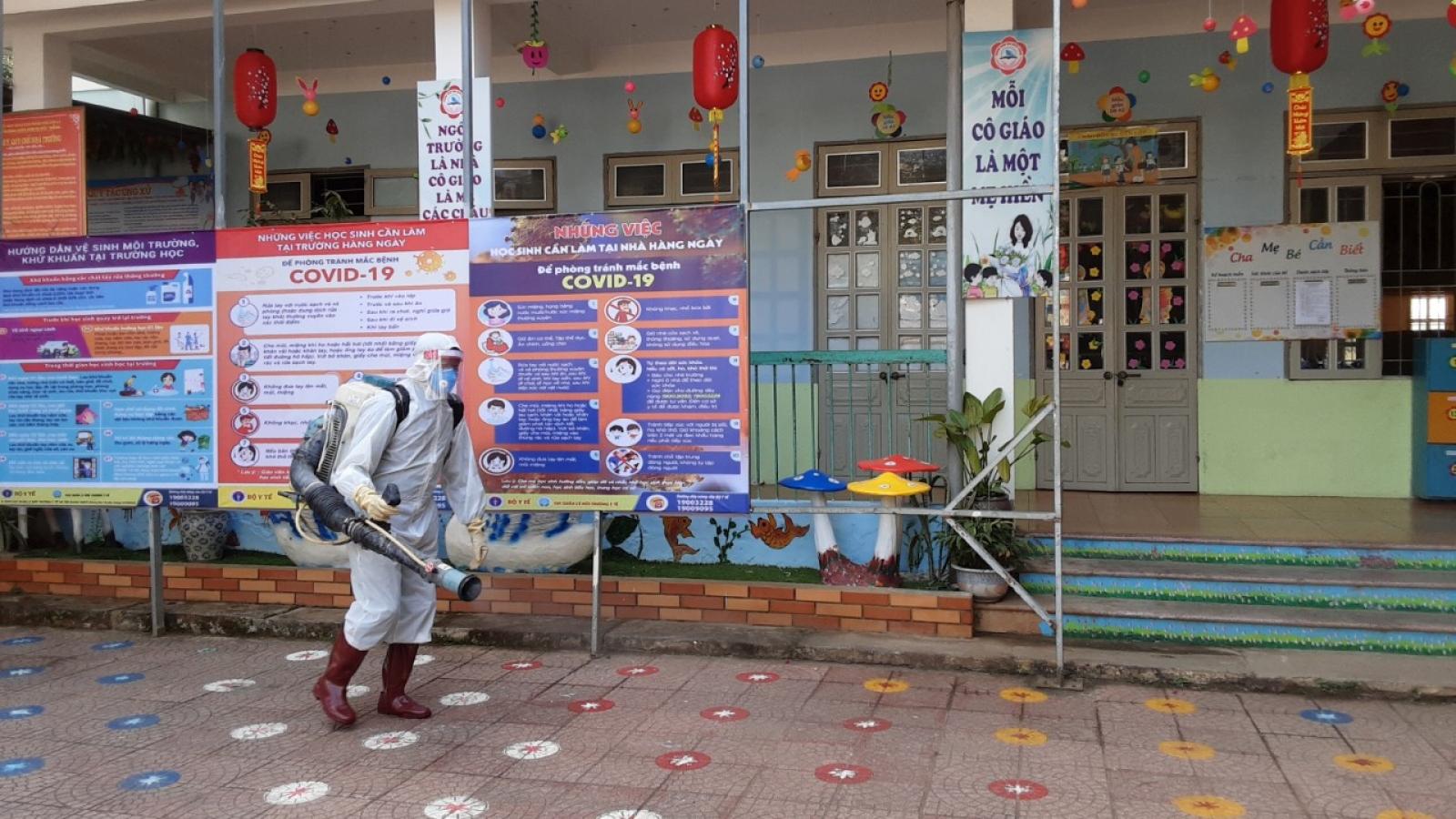 Sơn La tiếp tục cho học sinh nghỉ học sau Tết do Covid-19