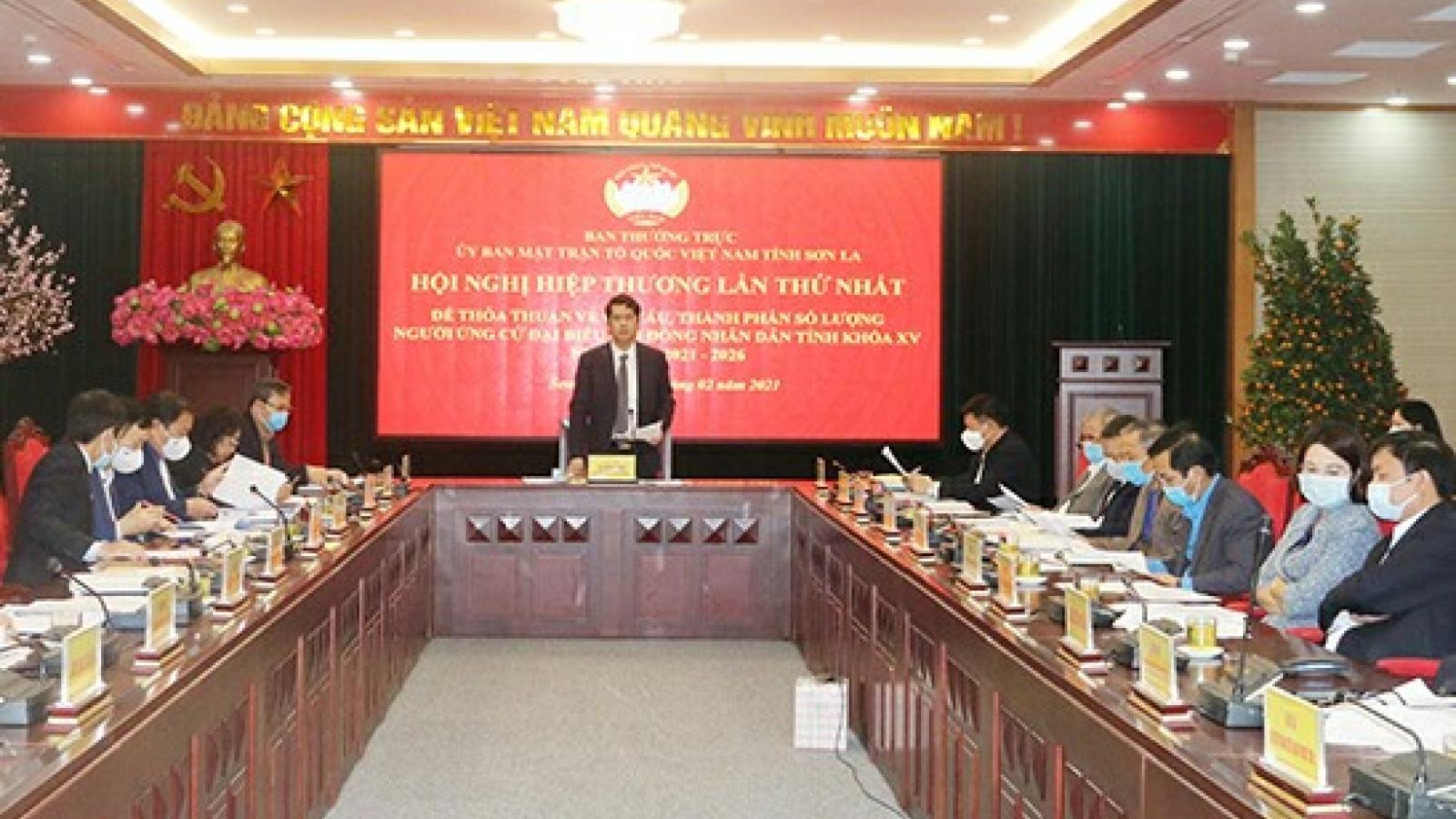 Dự kiến giới thiệu 122 người ứng cử để bầu đại biểu HĐND tỉnh Sơn La