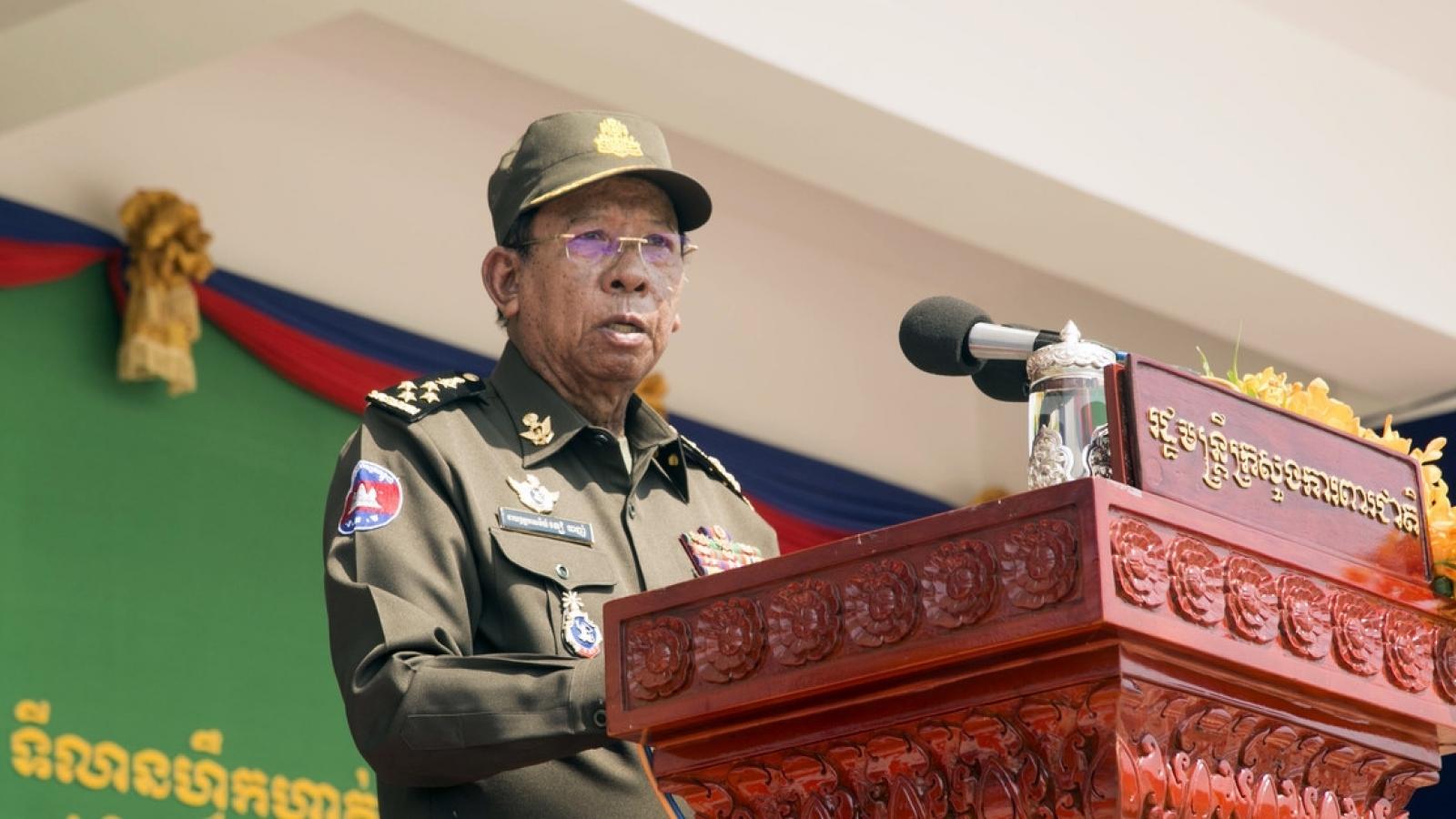 Campuchia hoãn tập trận Rồng vàng với Trung Quốc