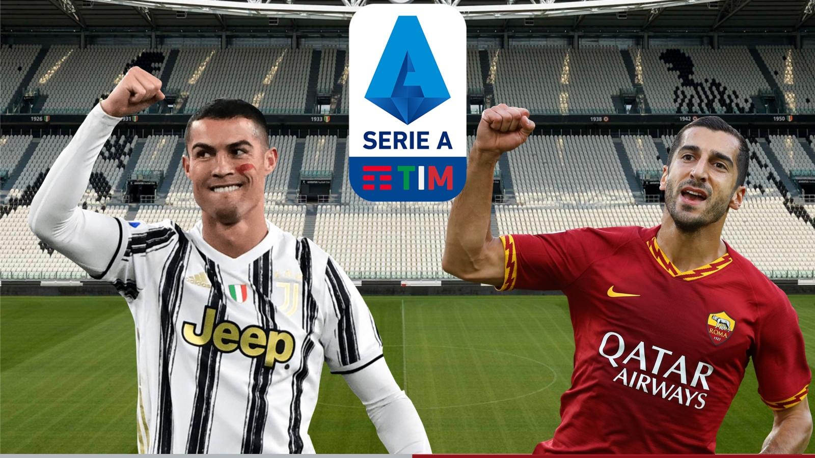 Dự đoán tỷ số, đội hình xuất phát trận Juventus - AS Roma